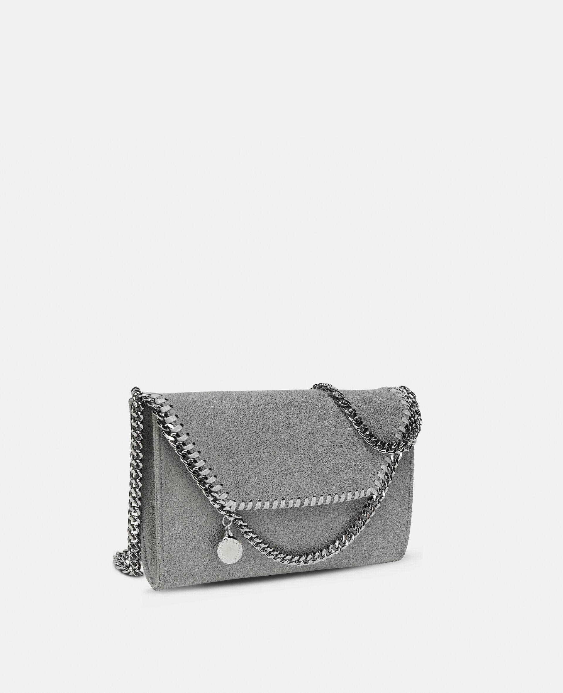Mini sac porté épaule Falabella-Gris-large image number 1