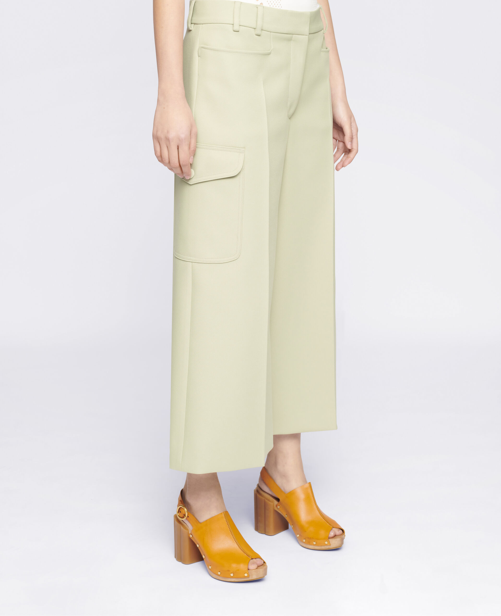 Audrey Trousers-Green-large image number 3