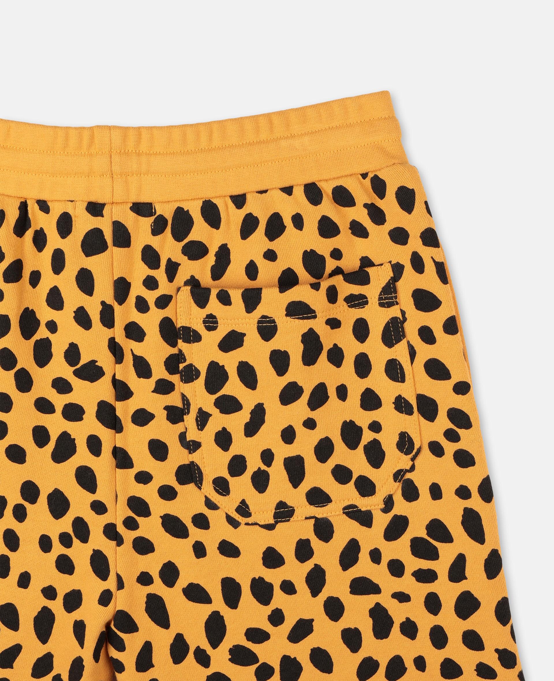Short en coton à motif guépard -Fantaisie-large image number 2