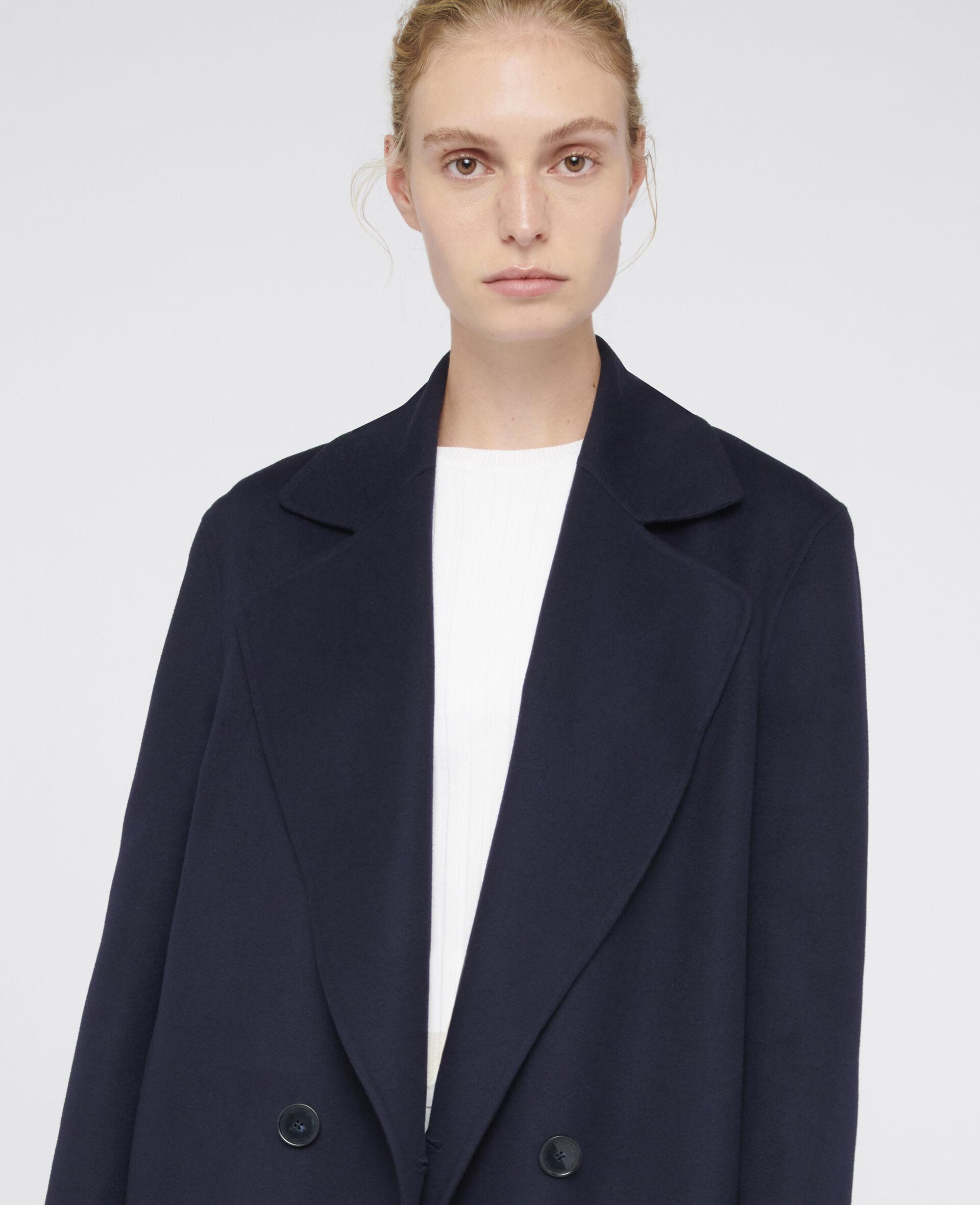Erika Wool Coat-Blue-large image number 3