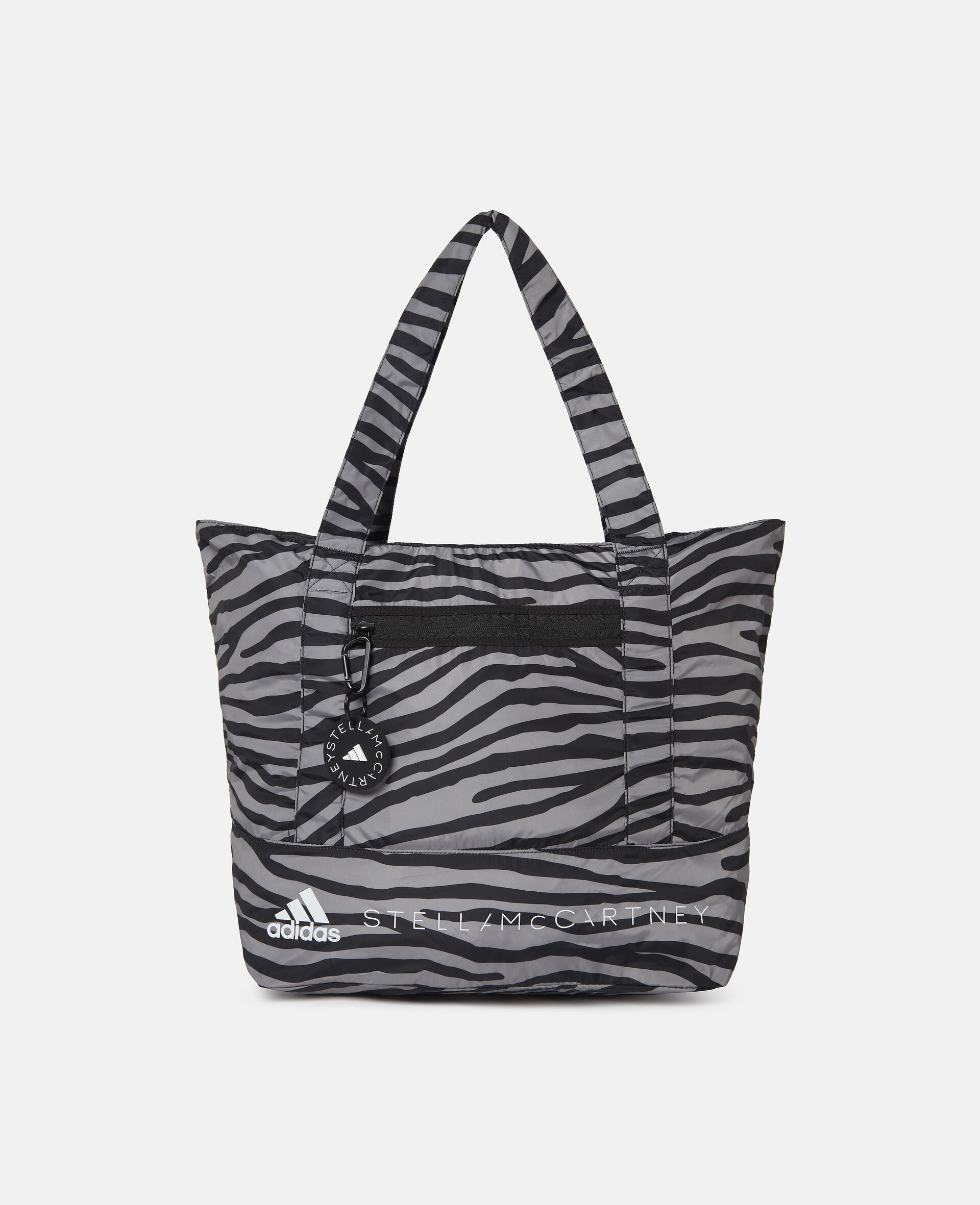 Printed Tote Bag-Multicolour-large image number 2
