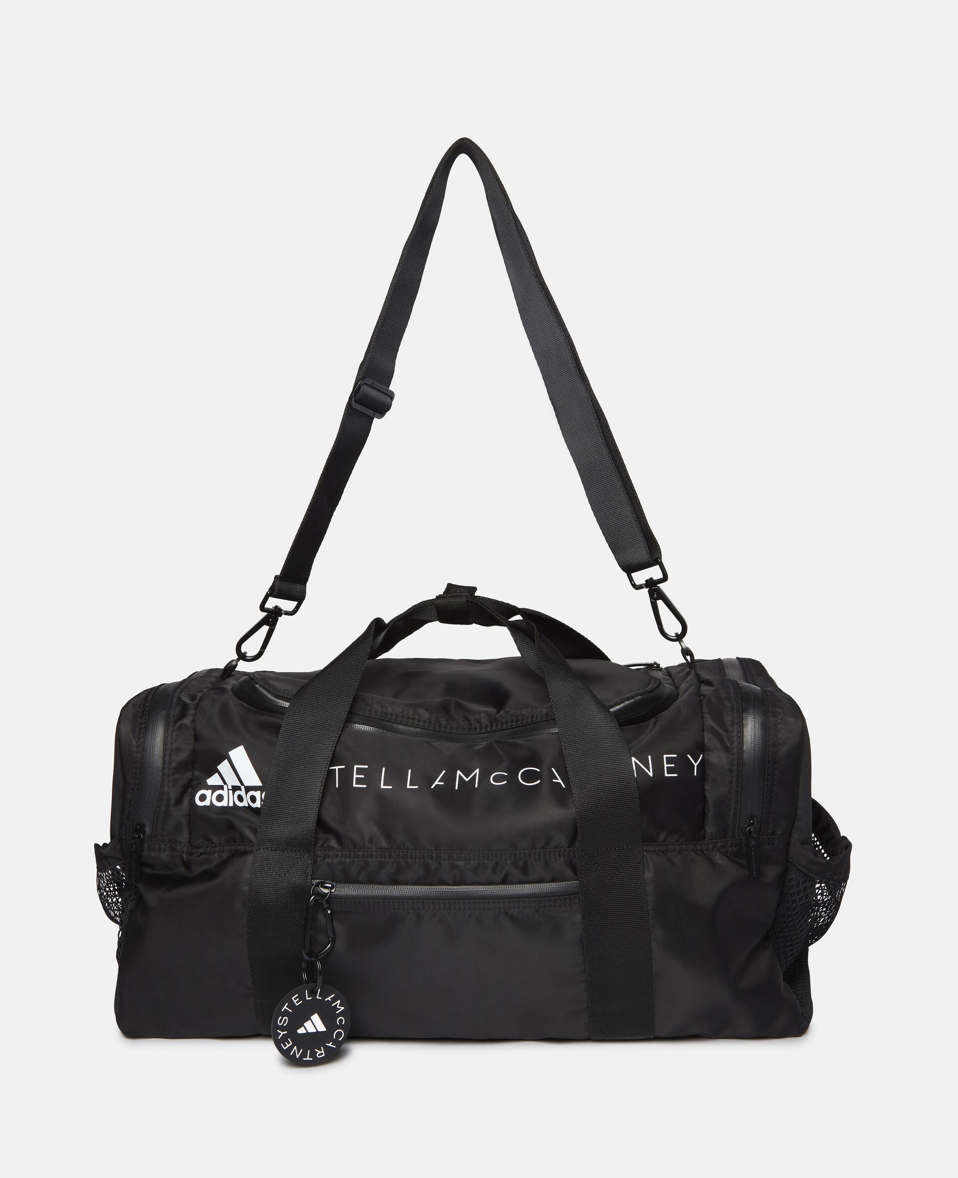 Sac de sport noir carré-Noir-large image number 2