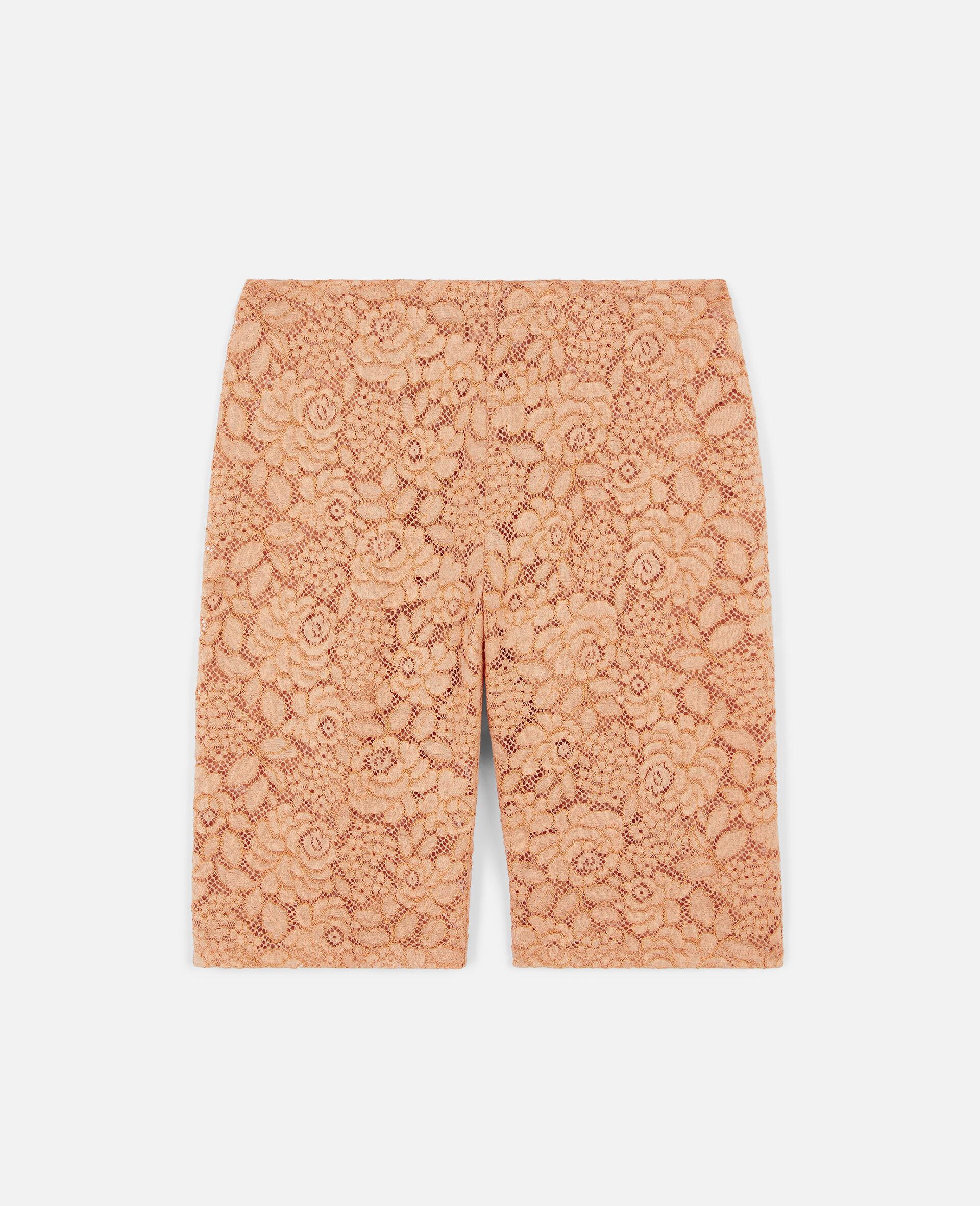 Isla Lace Shorts-Orange-large image number 0
