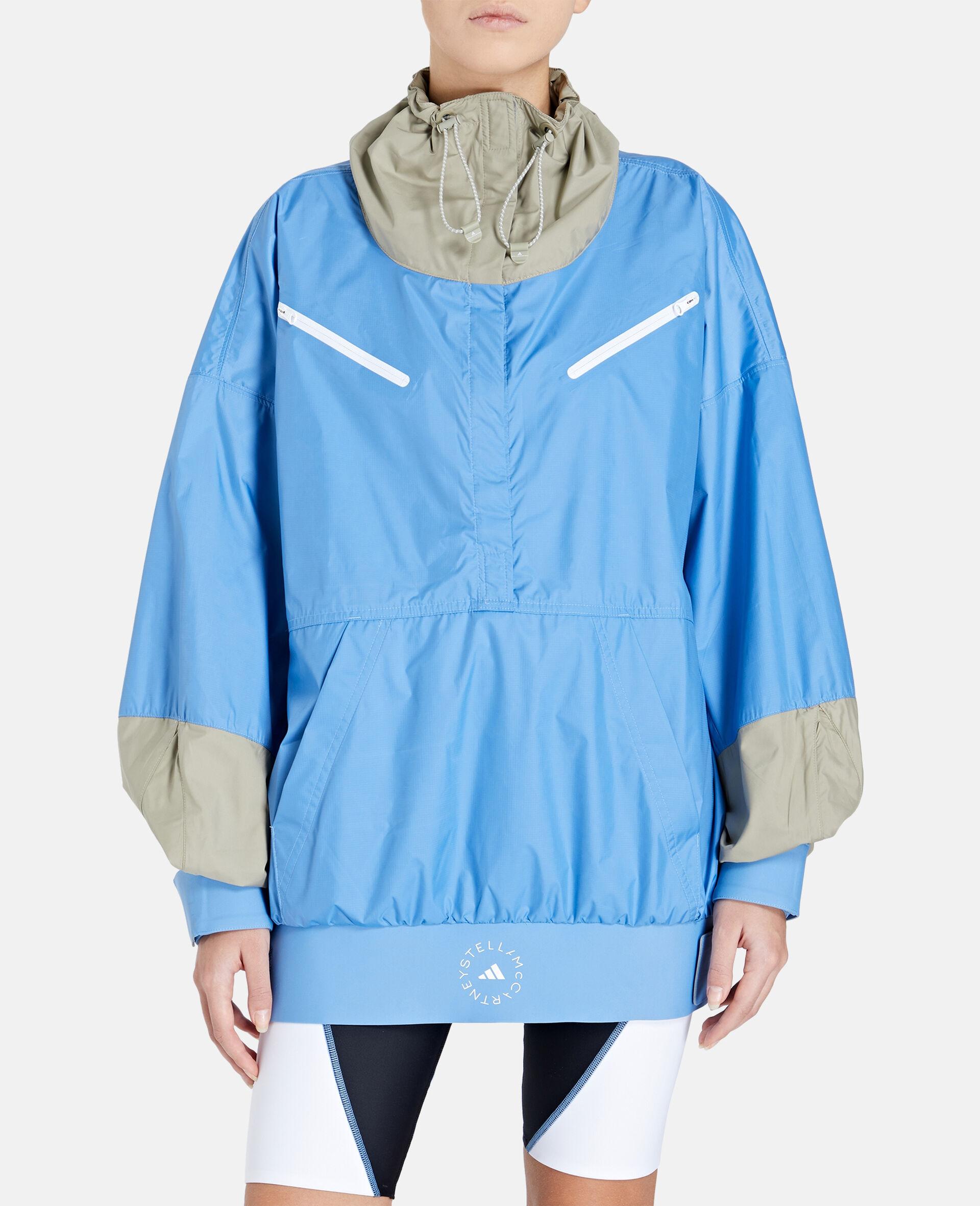 Beach Defender Half-zip Jacket-Blue-large image number 4