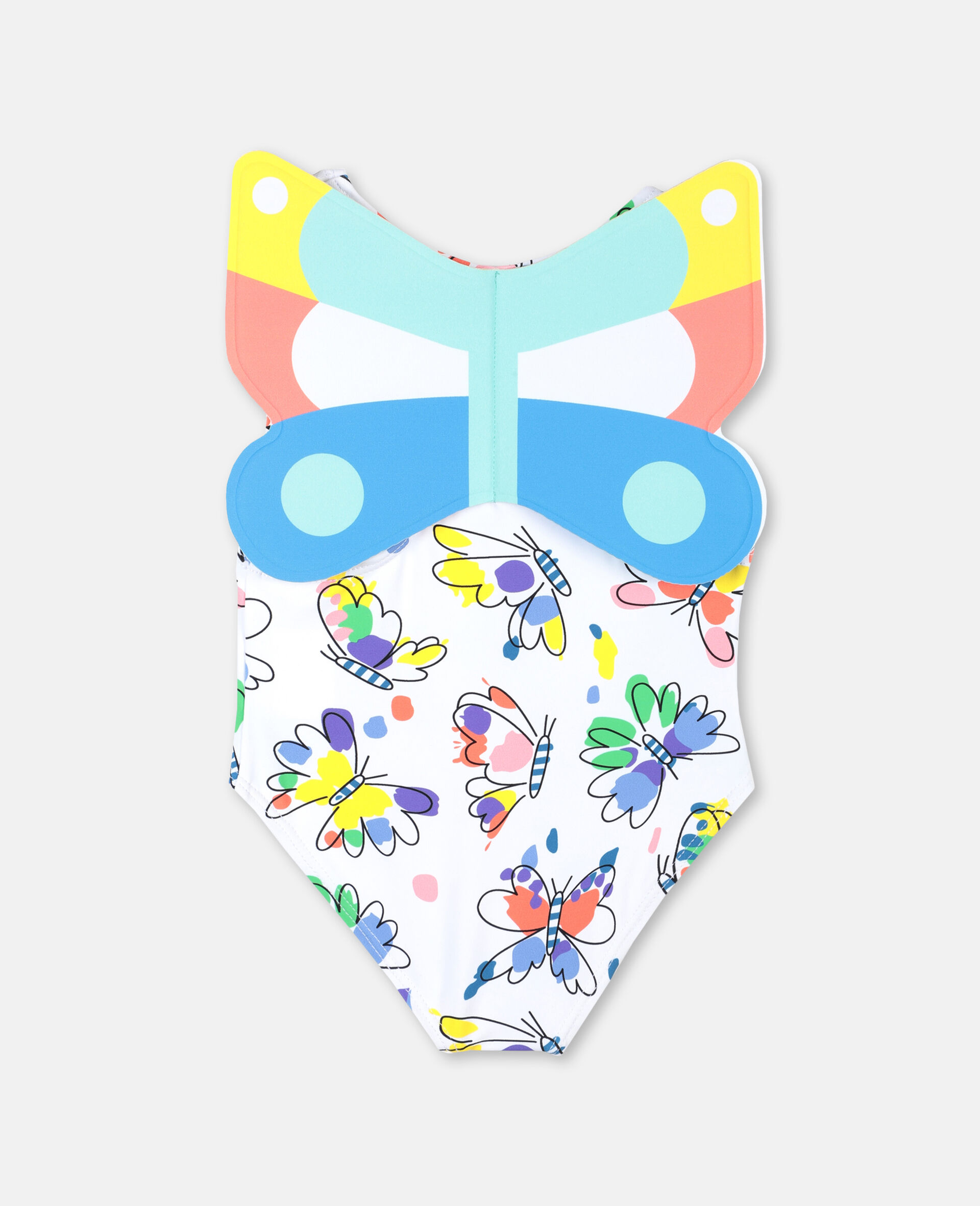 Baby Butterfly Swimsuit-Multicolour-large image number 4