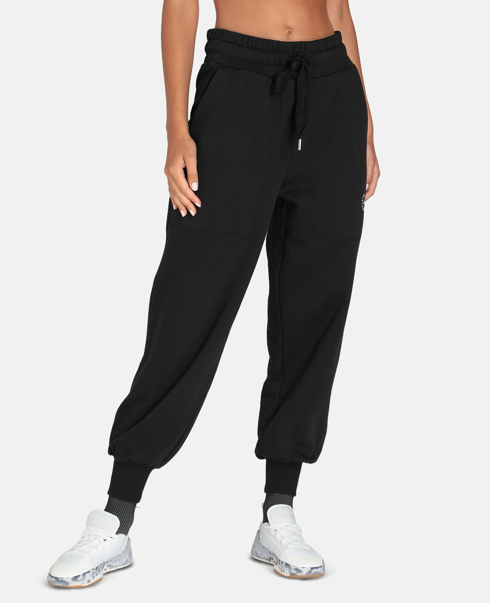Gray Training Sweatpants-Black-large image number 4