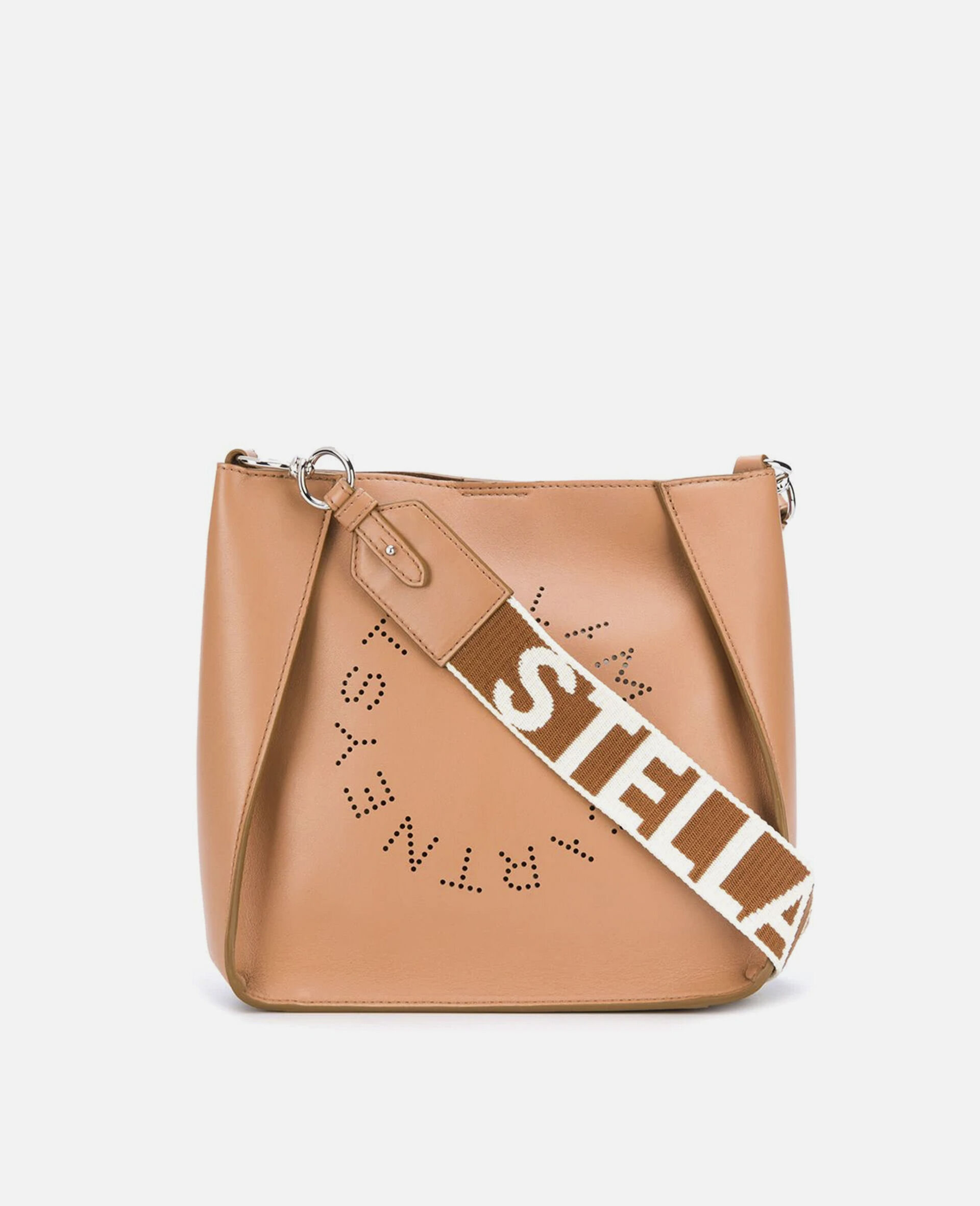 Stella Logo Shoulder Bag-Grey-large image number 0
