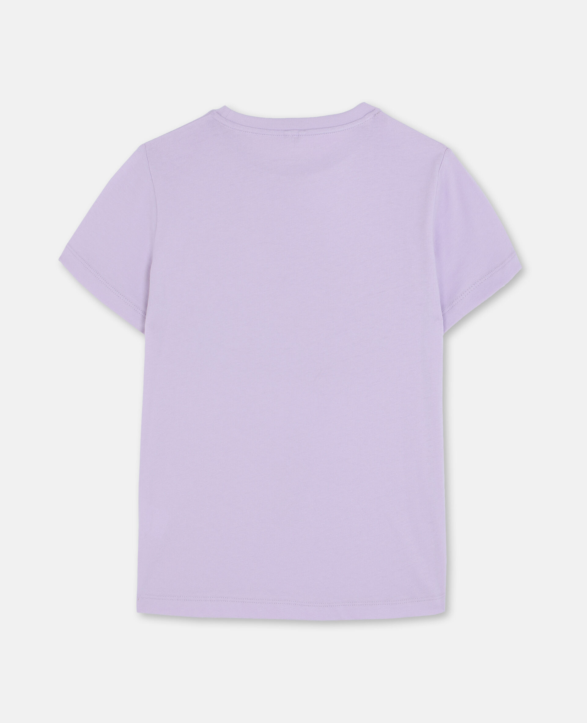 错视效果Flamingo棉质T恤-粉色-large image number 3
