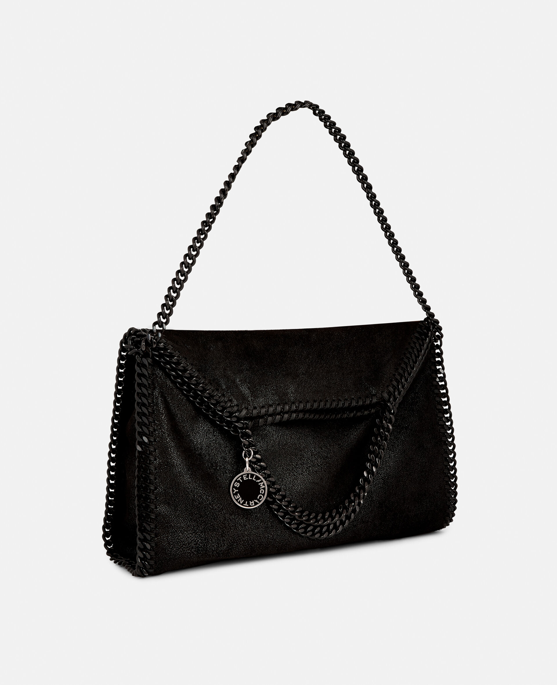 Falabella Fold-Over Tote-Black-large image number 1