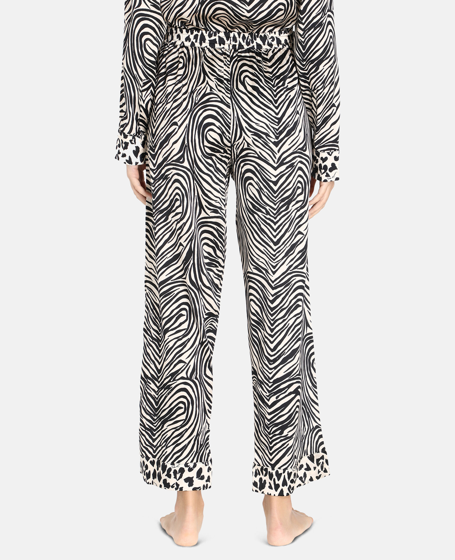 Maggie Twisting Trousers-Beige-large image number 2
