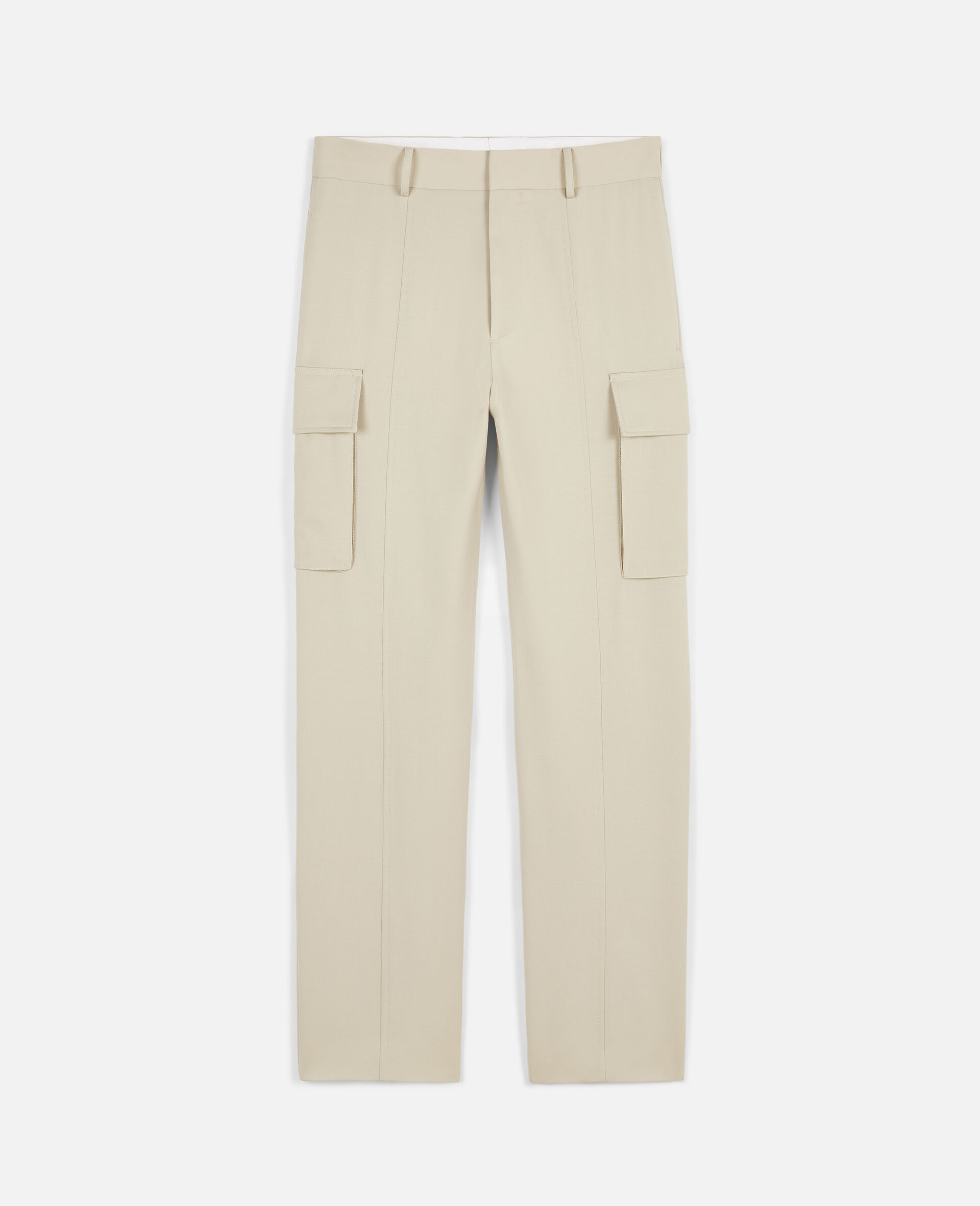Light Sand Trousers-Beige-large image number 0