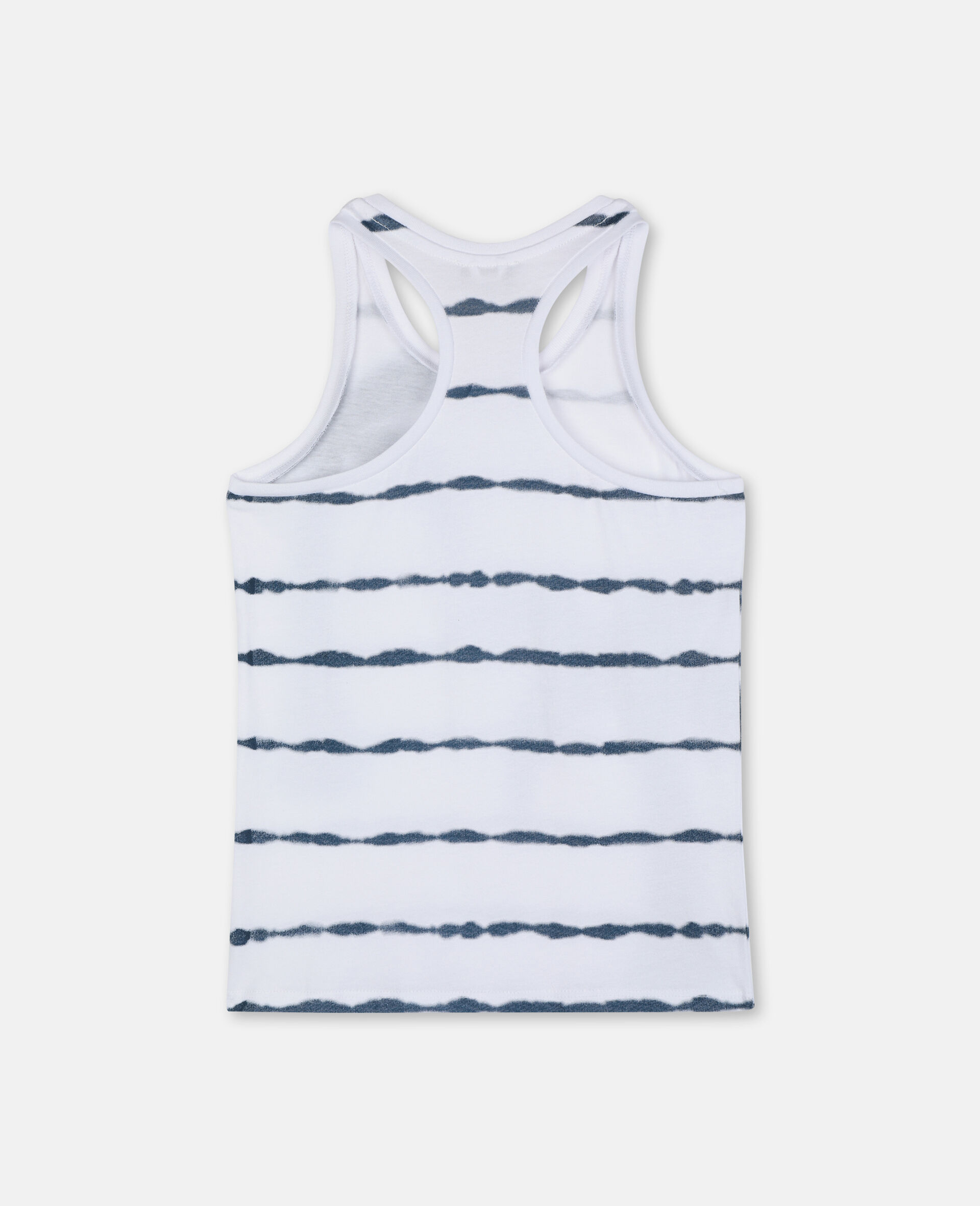 Palm Cotton Tank-White-large image number 3