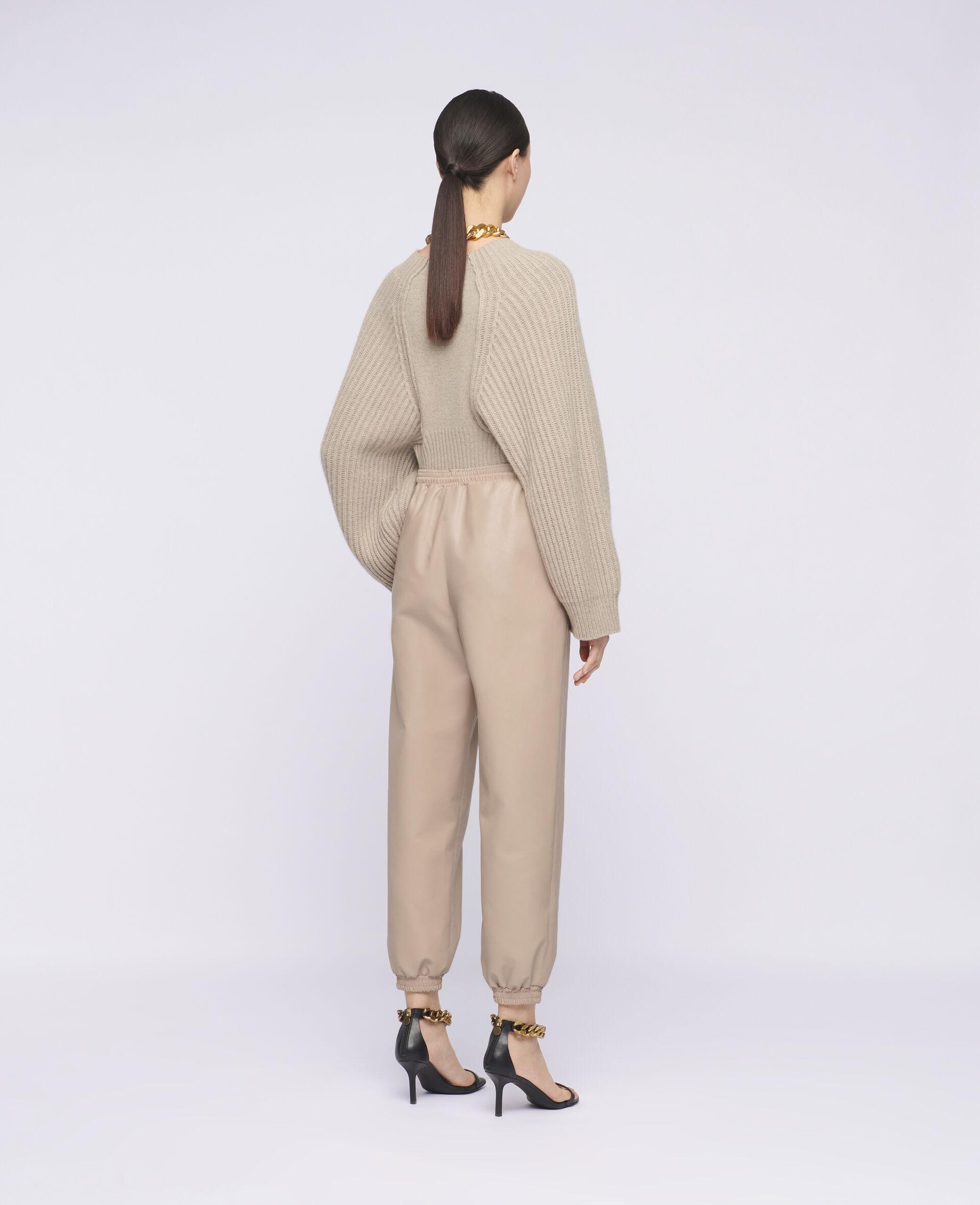Pantalon en matière synthétique Kira-Rose-large image number 2