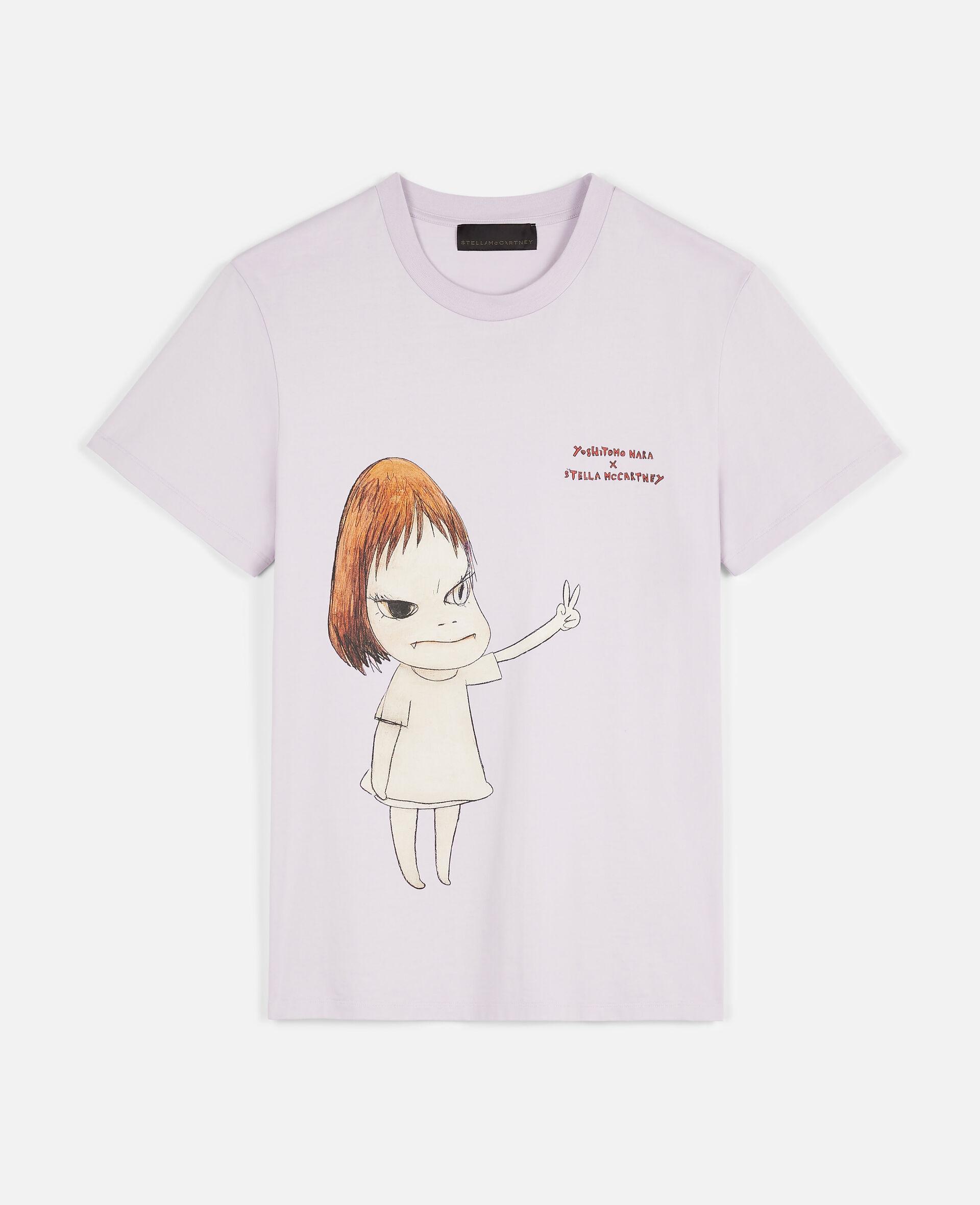 T-Shirt Nara aus Bio-Baumwolle -Purple-large image number 0