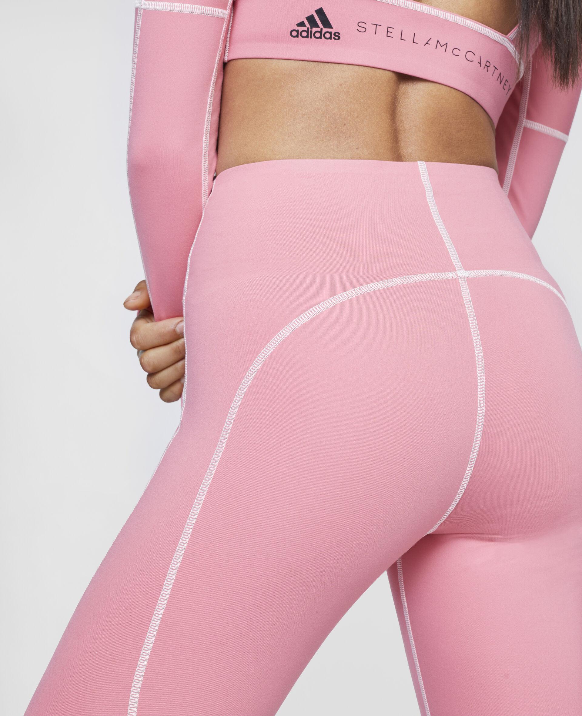 Hazy Rose Yoga High Waist Tights-Pink-large image number 3