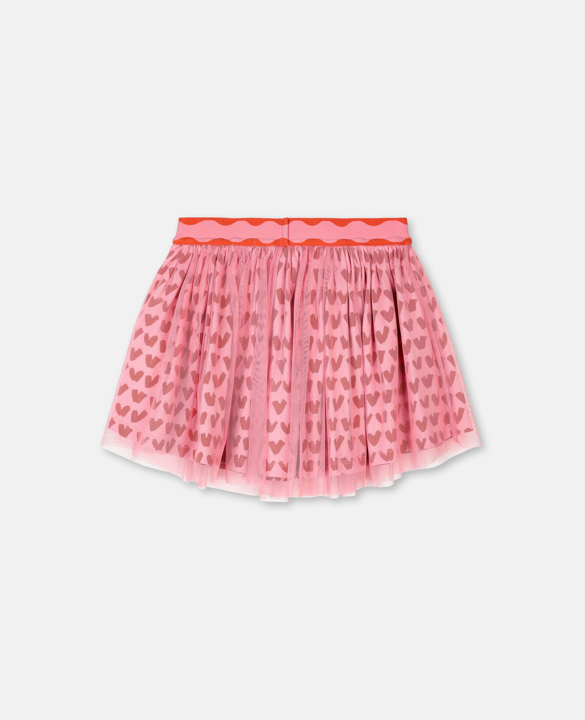 Hearts Tulle Skirt -Pink-large image number 3