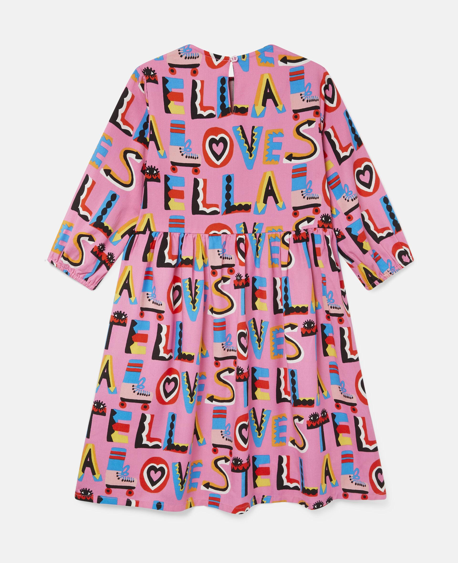 Robe en sergé Stella Loves-Rose-large image number 3