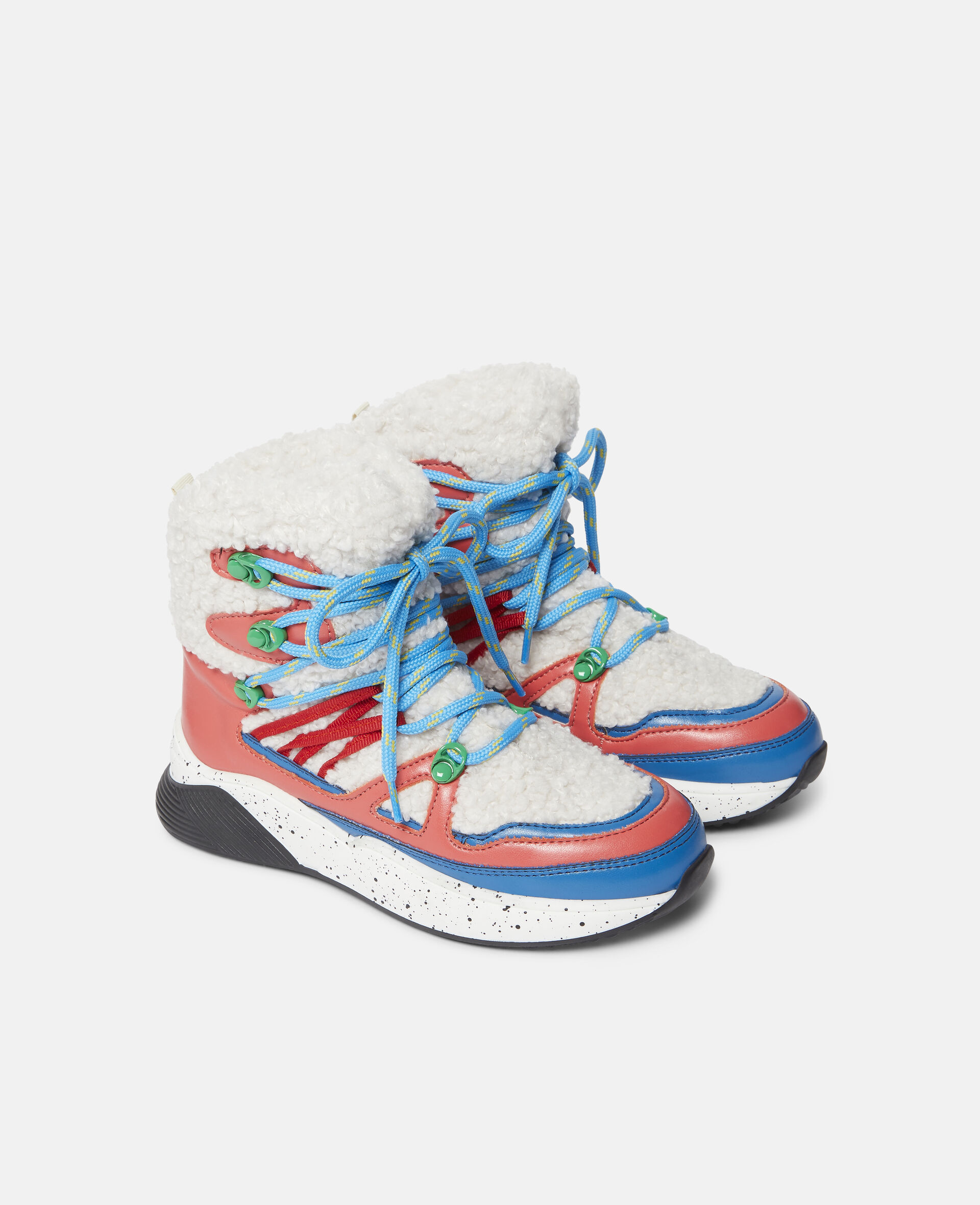Colourblock Hiking Boots-White-large image number 3