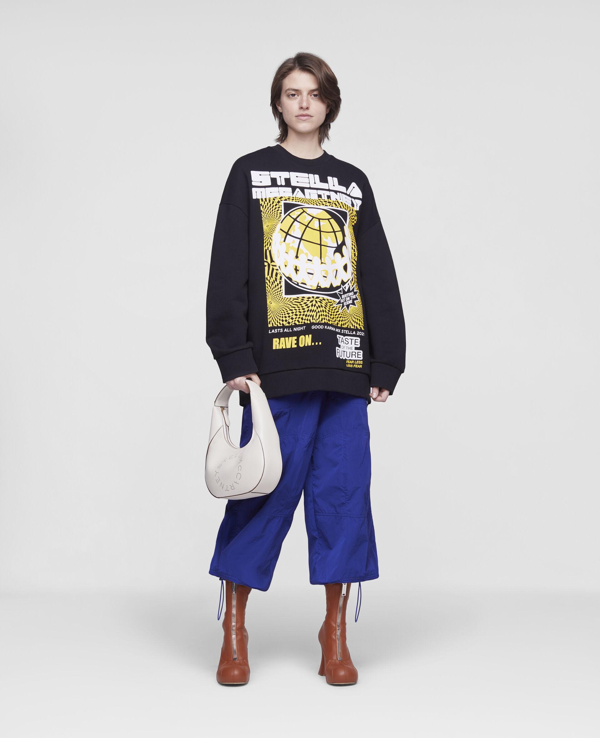 Rave Sweatshirt-Schwarz-large image number 1