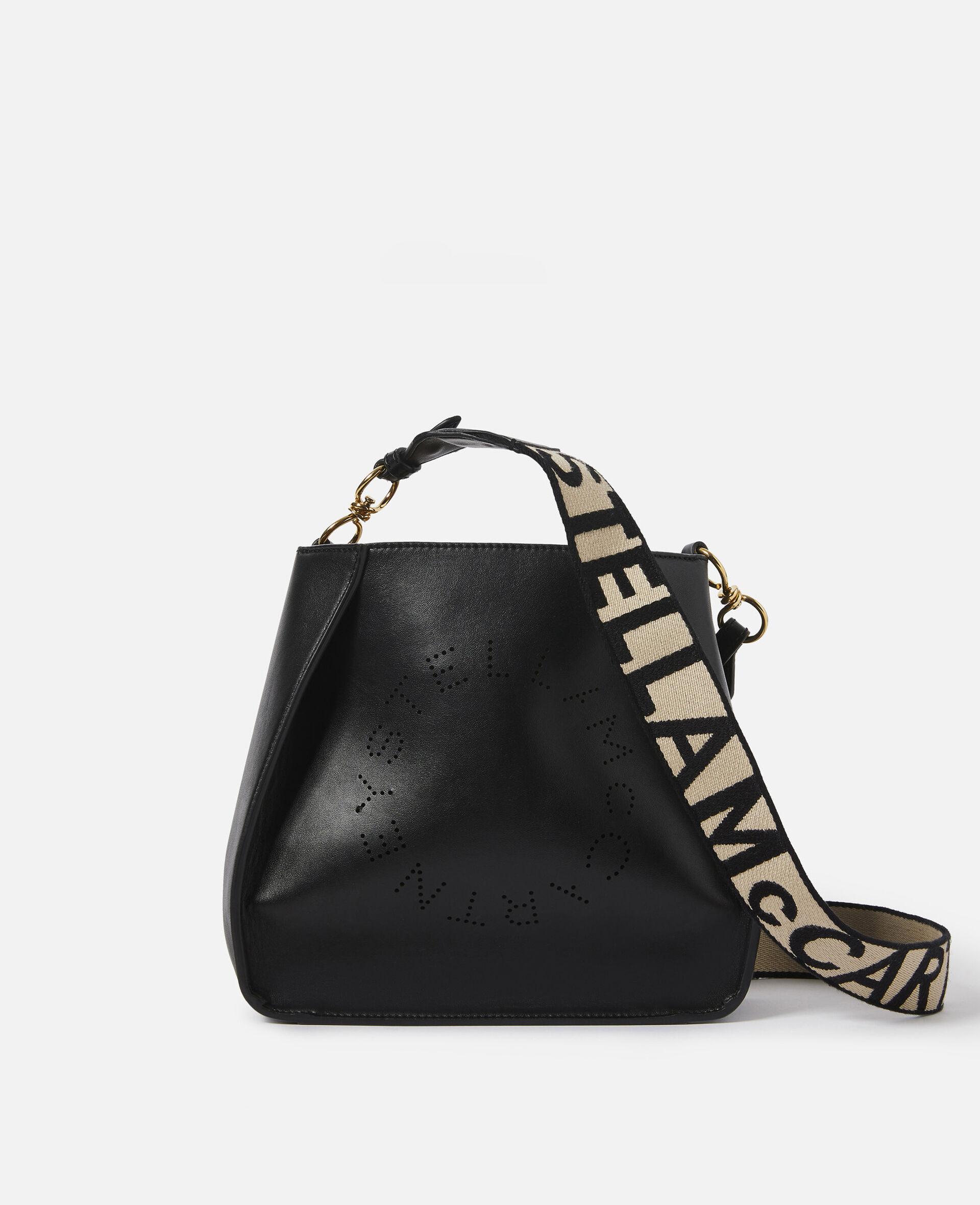 Stella Logo Shoulder Bag-Brown-large image number 0