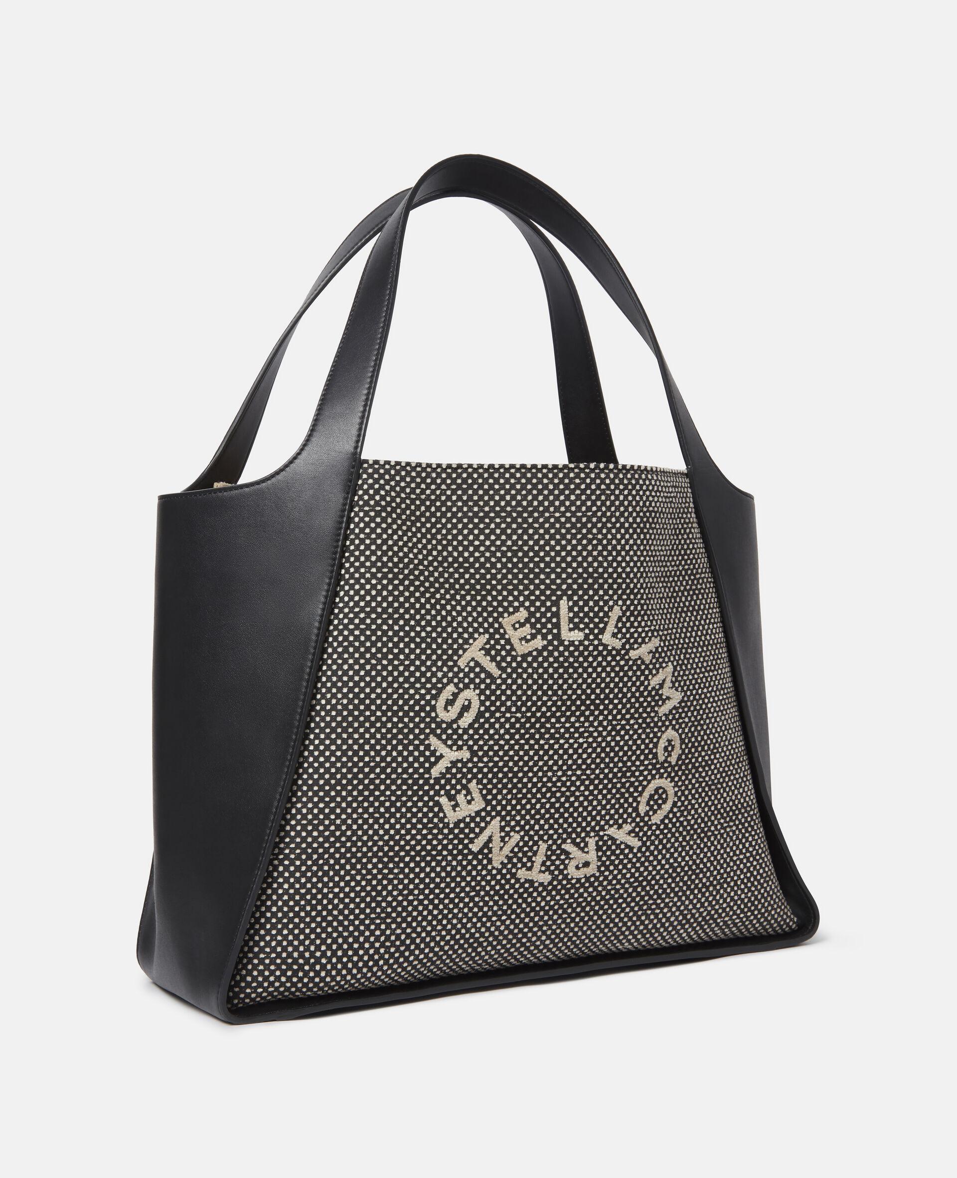 Stella Logo Tote Bag-Beige-large image number 1