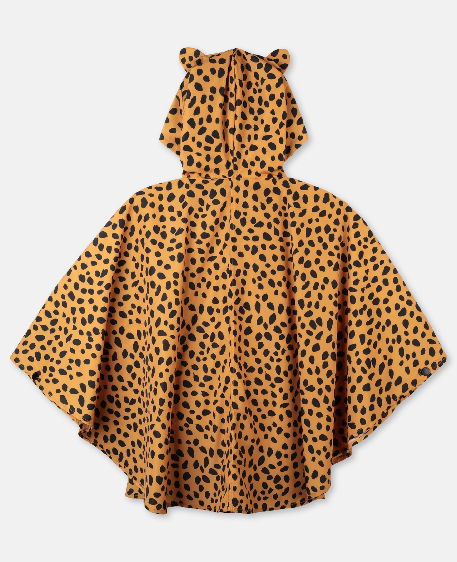 Cheetah Dots Cape -Multicolour-large image number 3
