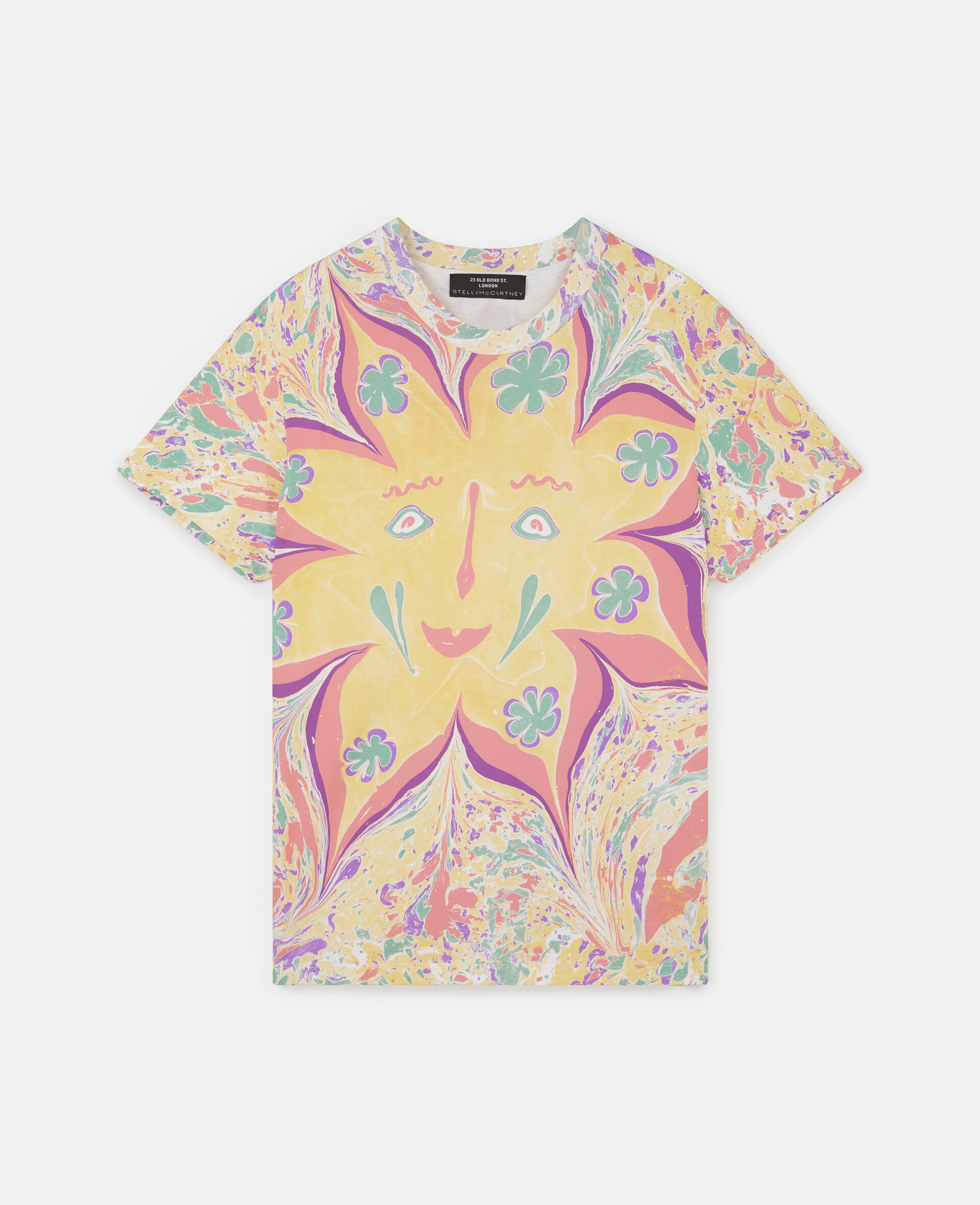 Myfawnwy Printed T-Shirt-Multicolour-large image number 0