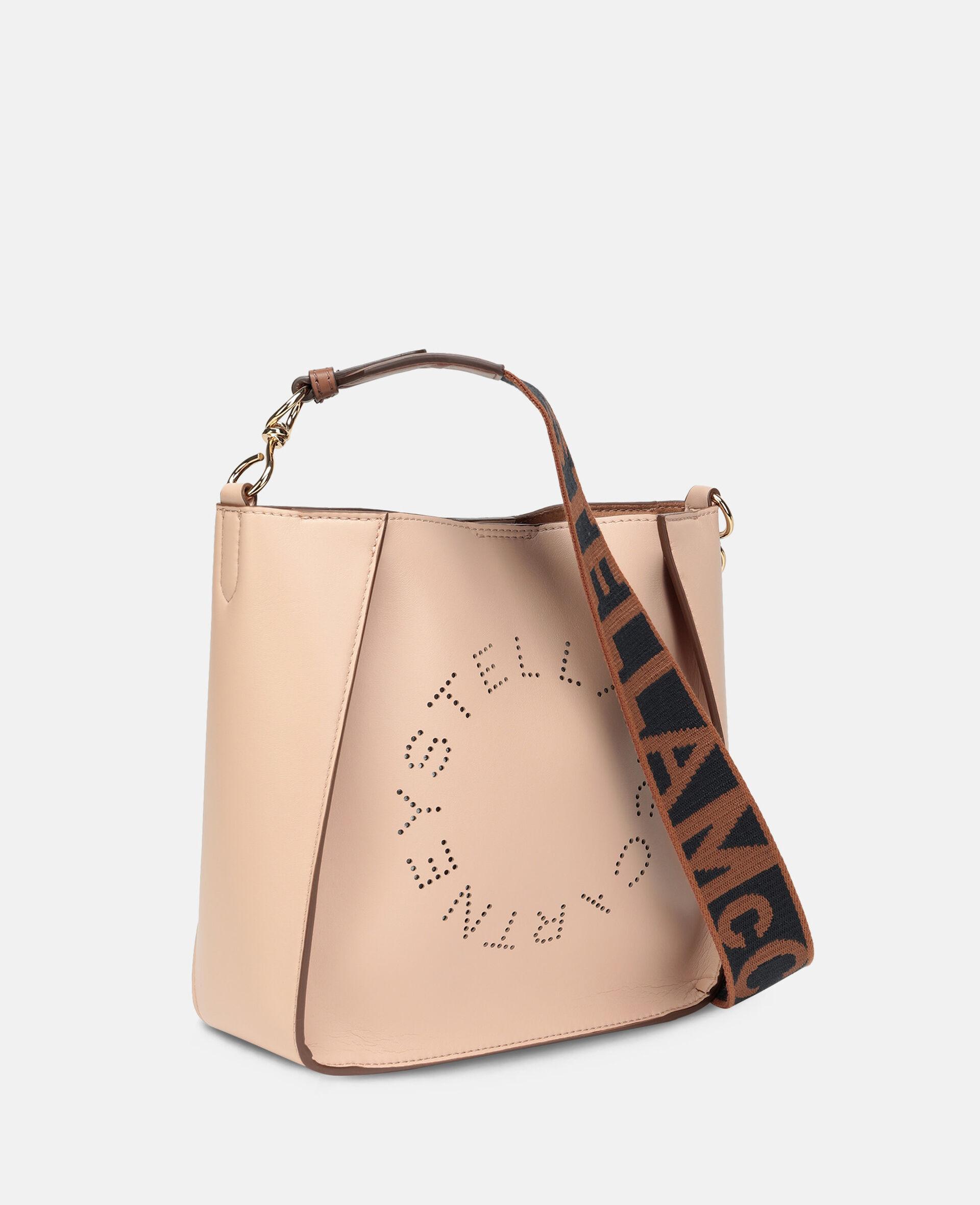 Stella Logo Shoulder Bag-Pink-large image number 1