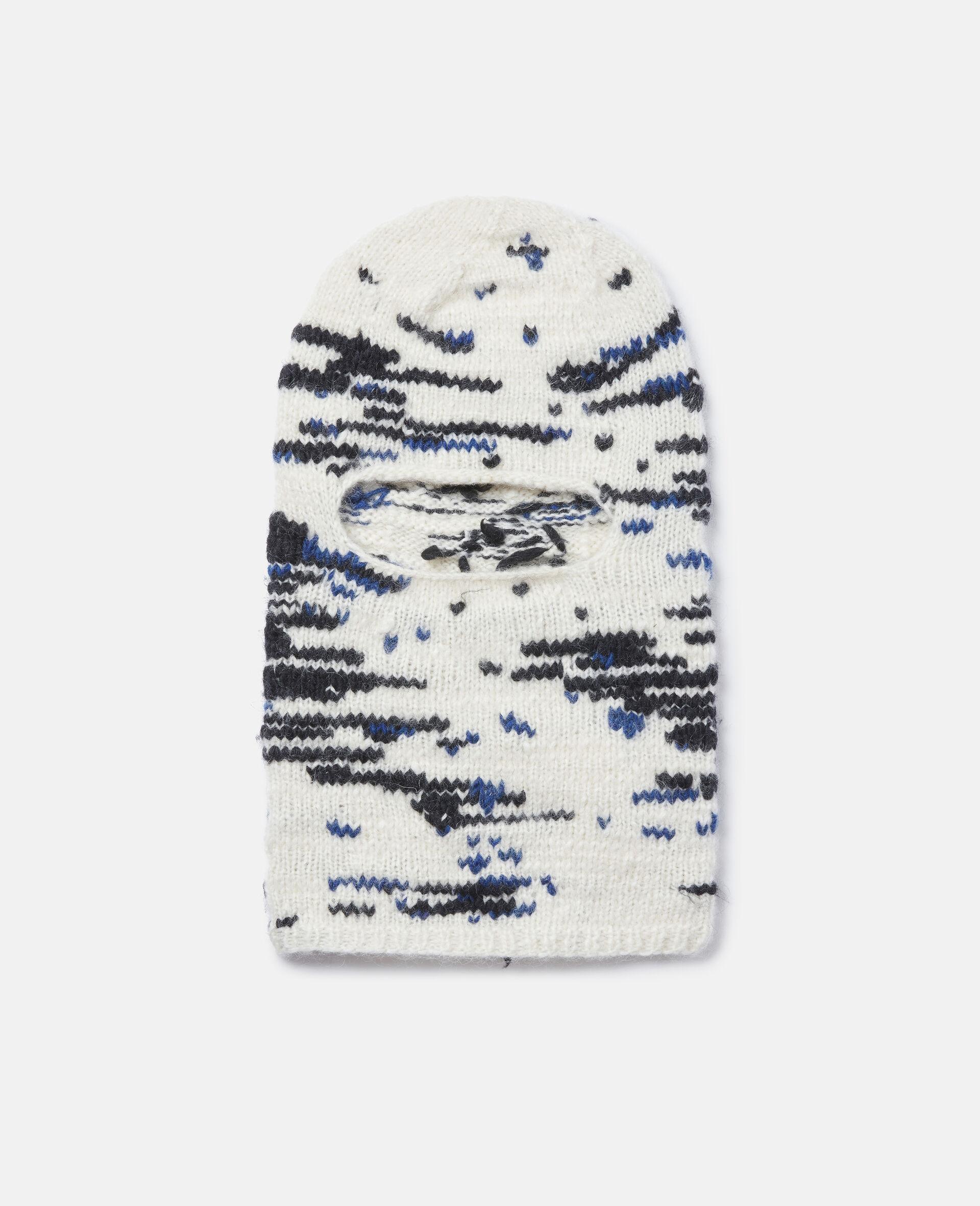 Knit Unisex Balaclava -White-large image number 0