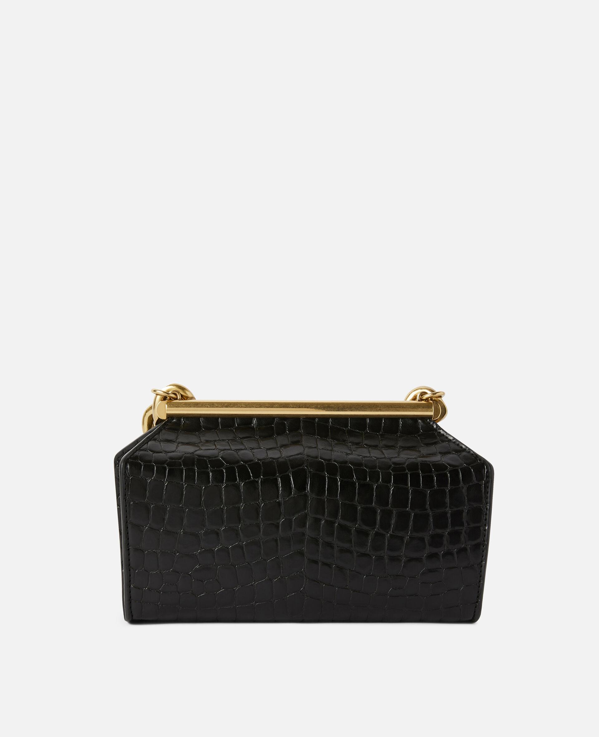 Medium Chunky Chain Bag-Black-large image number 2