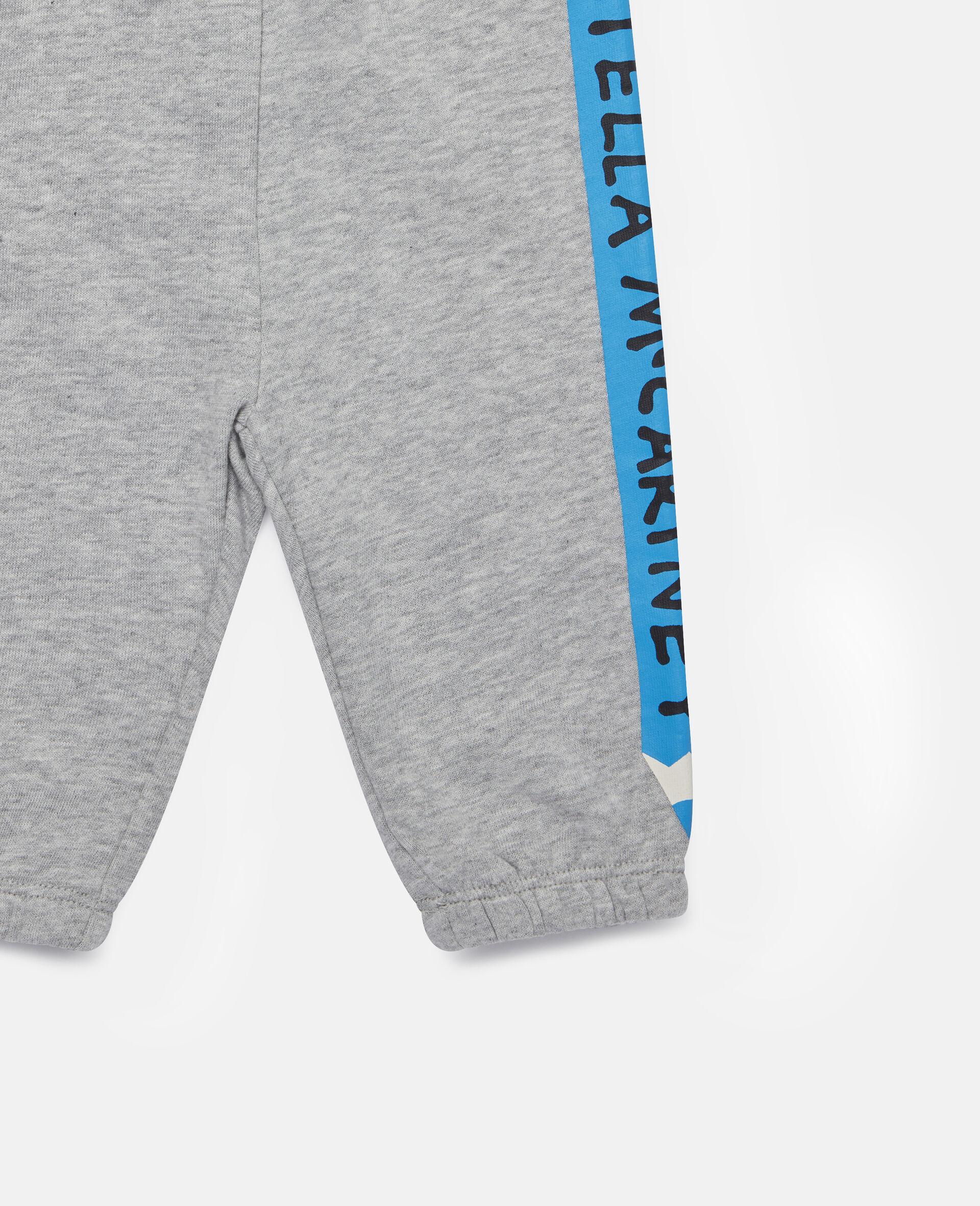 Pantalon de jogging en polaire à crayons-Gris-large image number 1