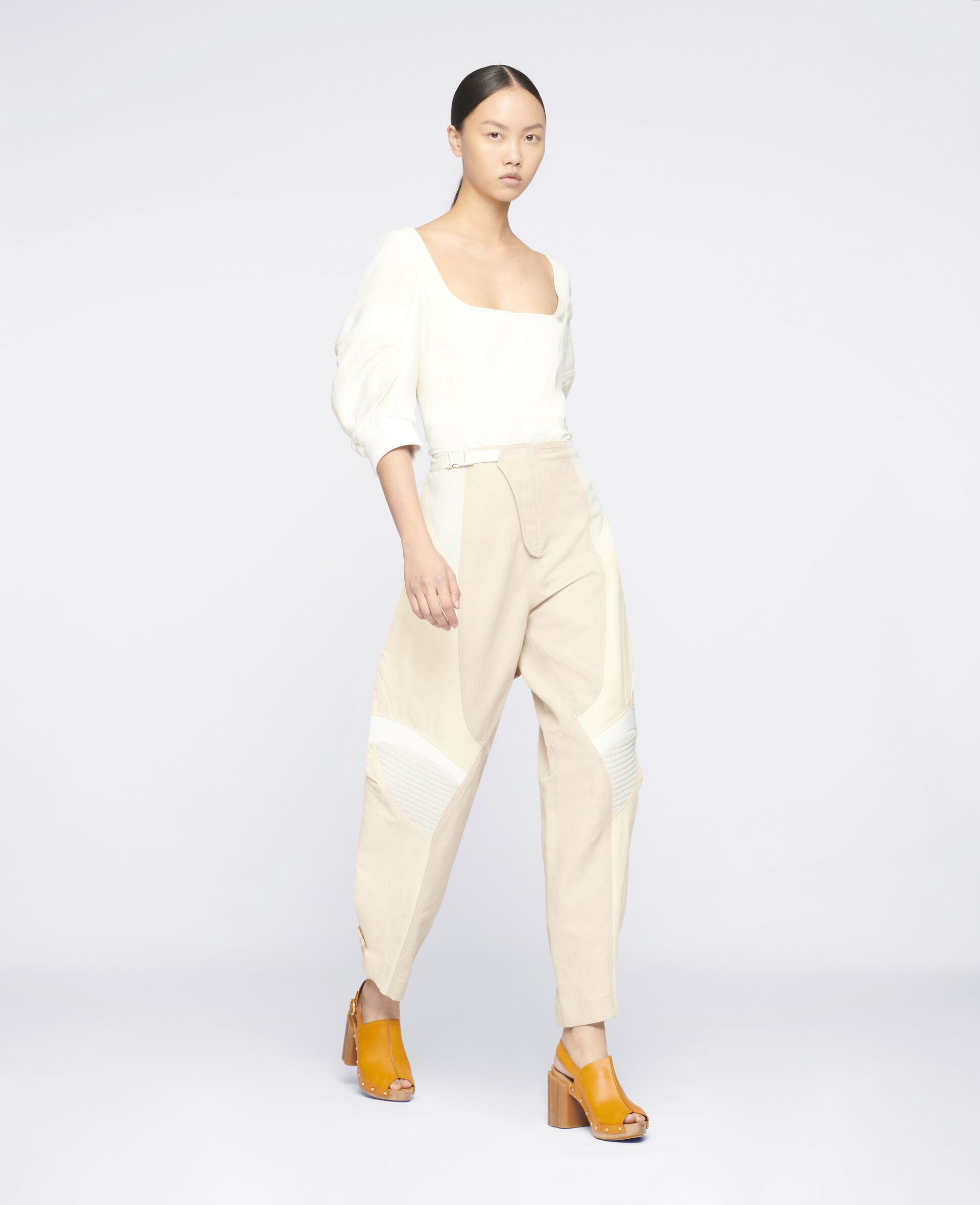 Brooke Trousers-White-large image number 1