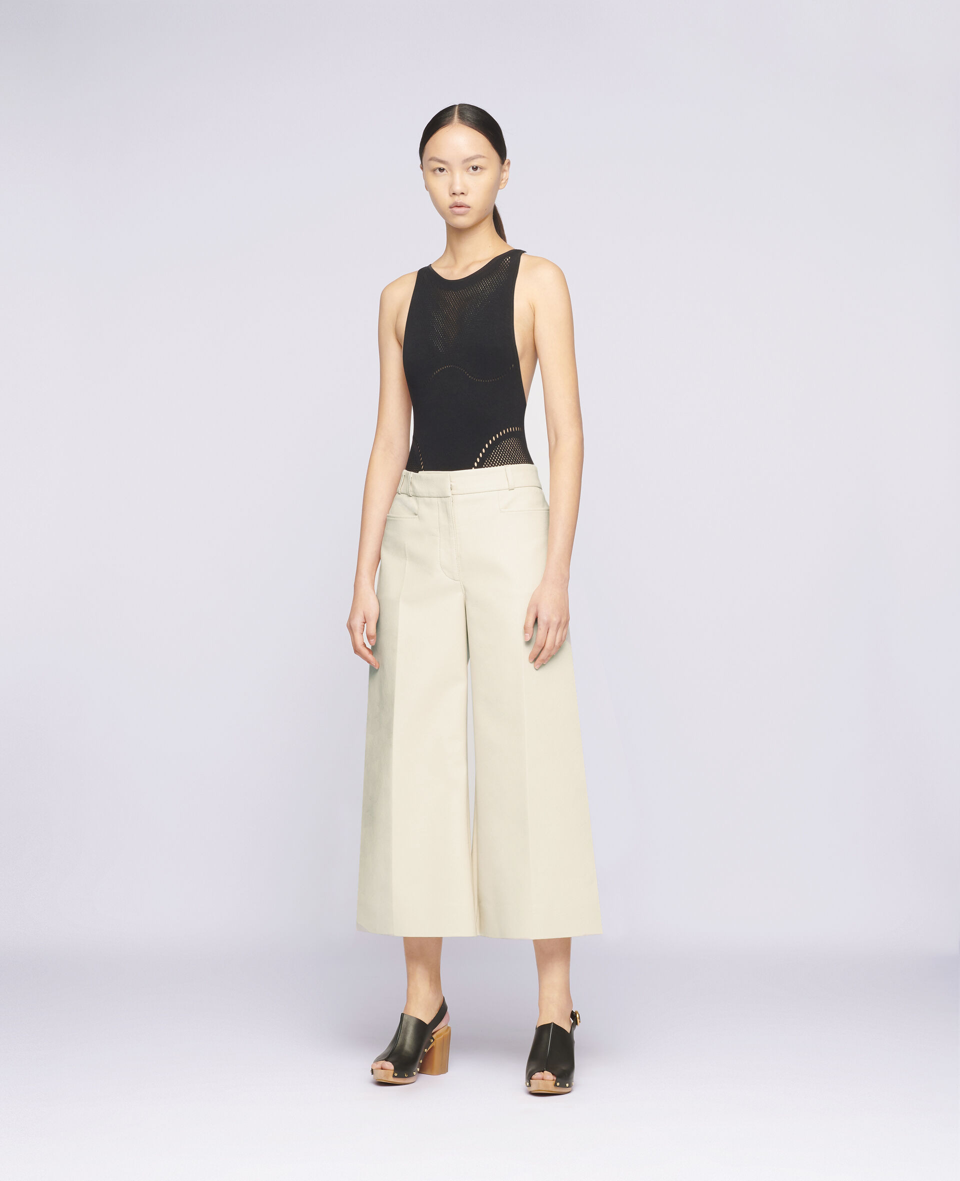 Charlotte Trousers-Beige-large image number 1