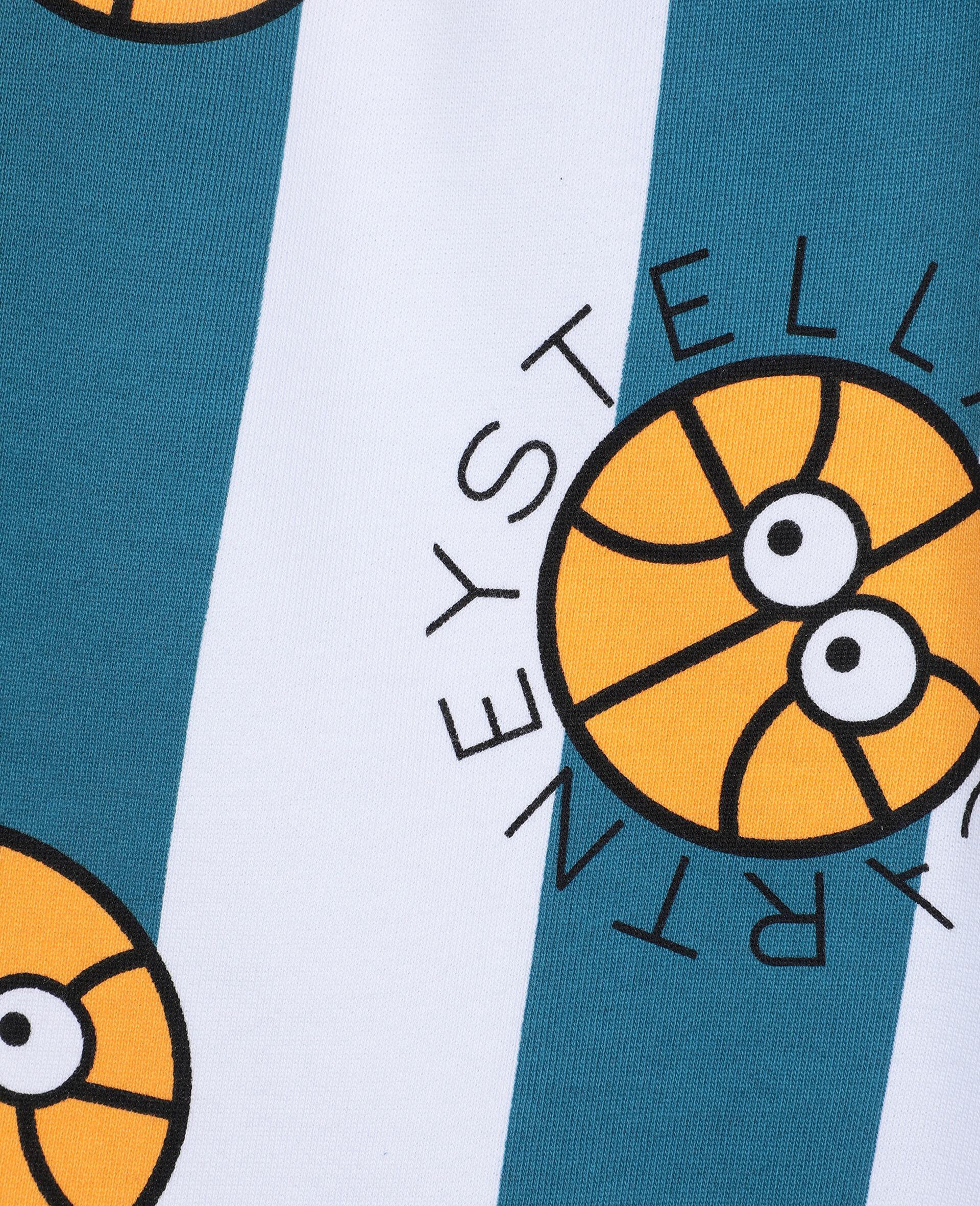 Basketball Cotton Shorts -Multicolour-large image number 1