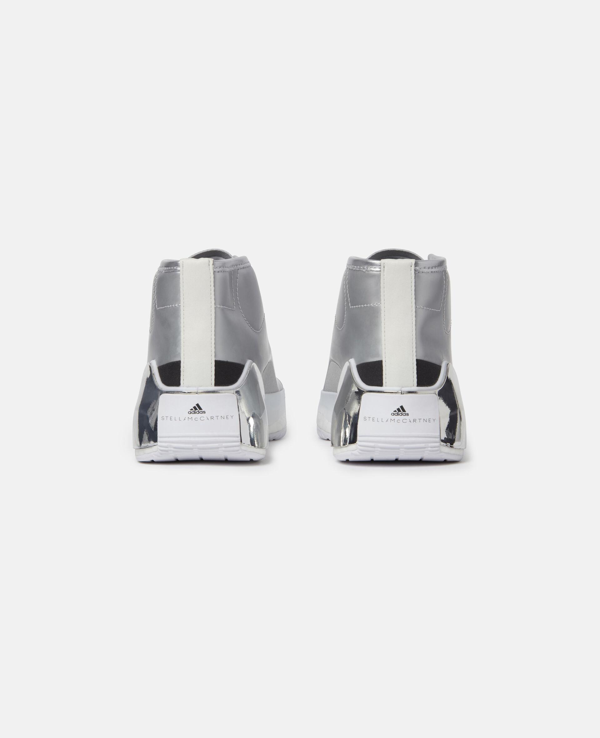 Metallic Treino Running Sneakers-Grey-large image number 4