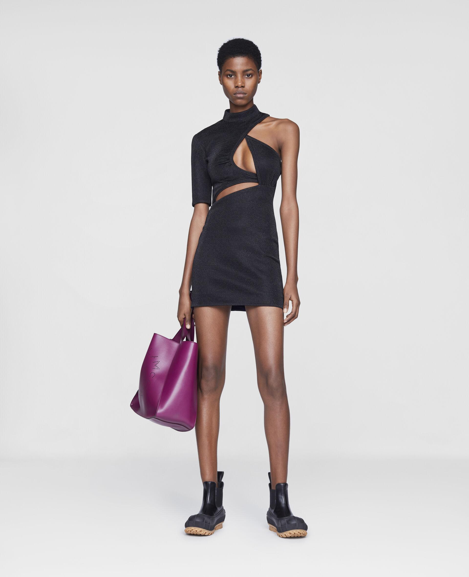 Mini robe Malisa-Noir-large image number 1