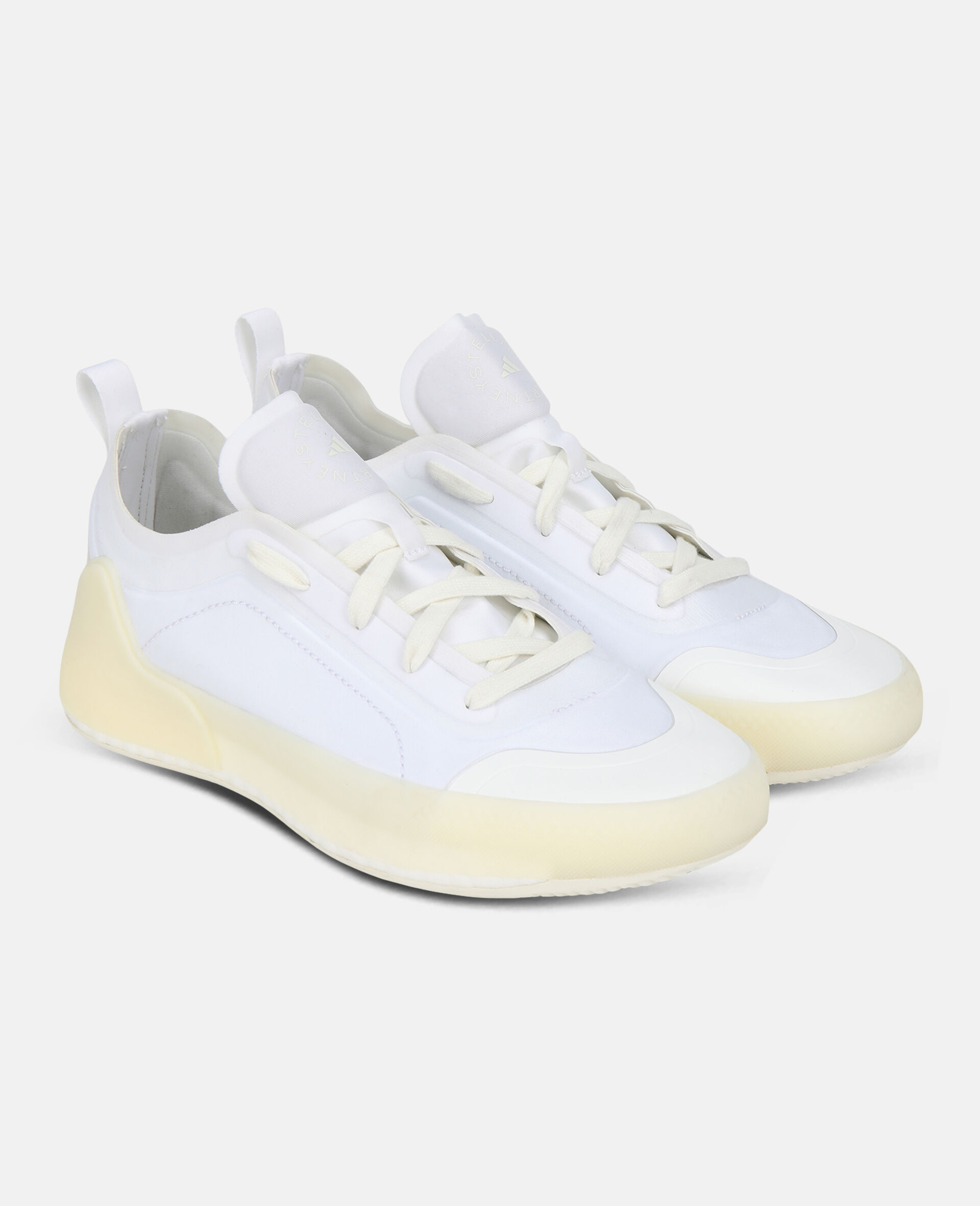 White Boost Treino Sneakers-White-large image number 3