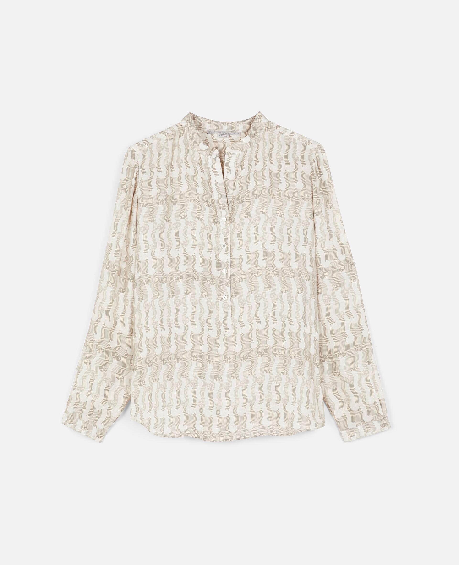 Eva Silk Shirt-Multicolour-large image number 0