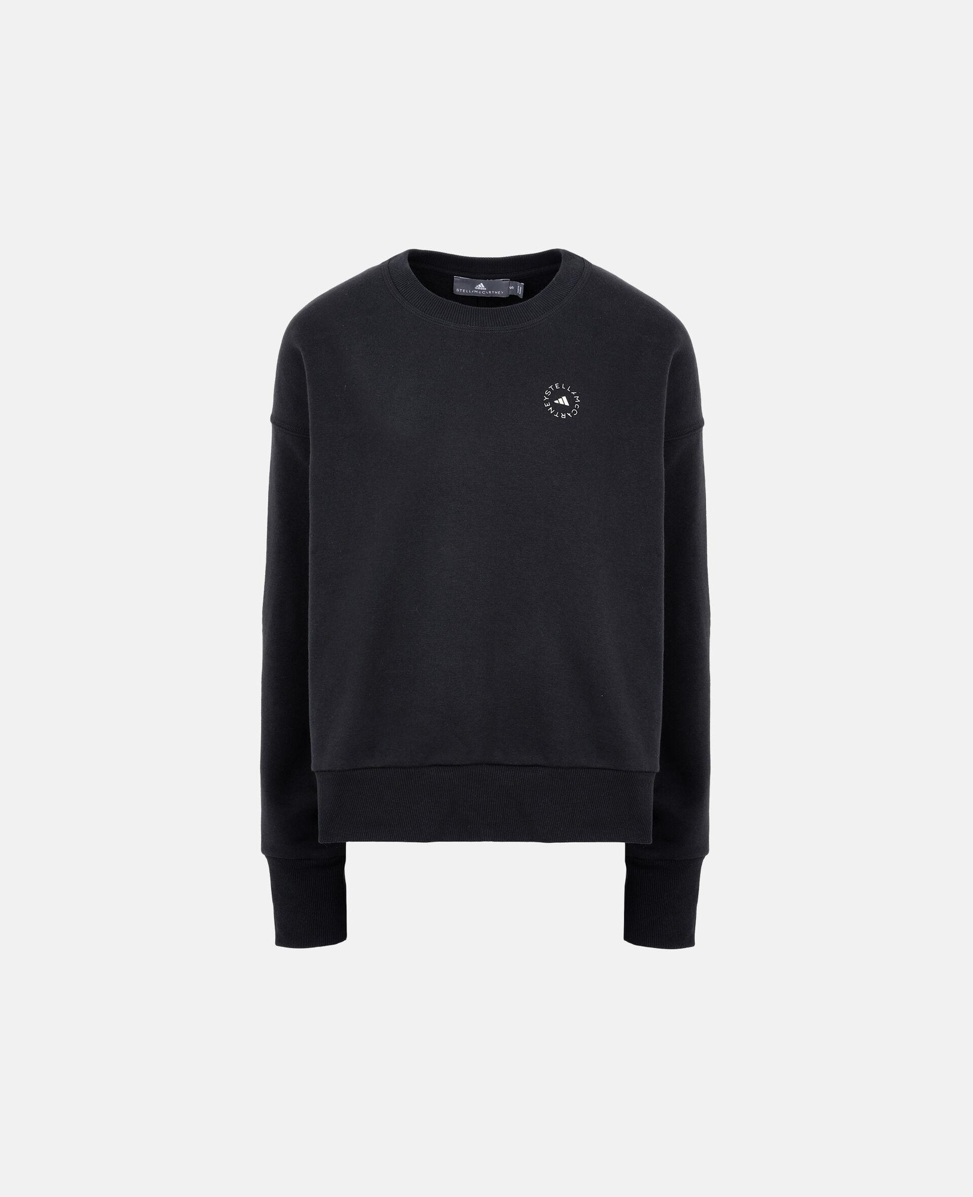 Schwarzes Sport-Sweatshirt-Schwarz-large image number 0