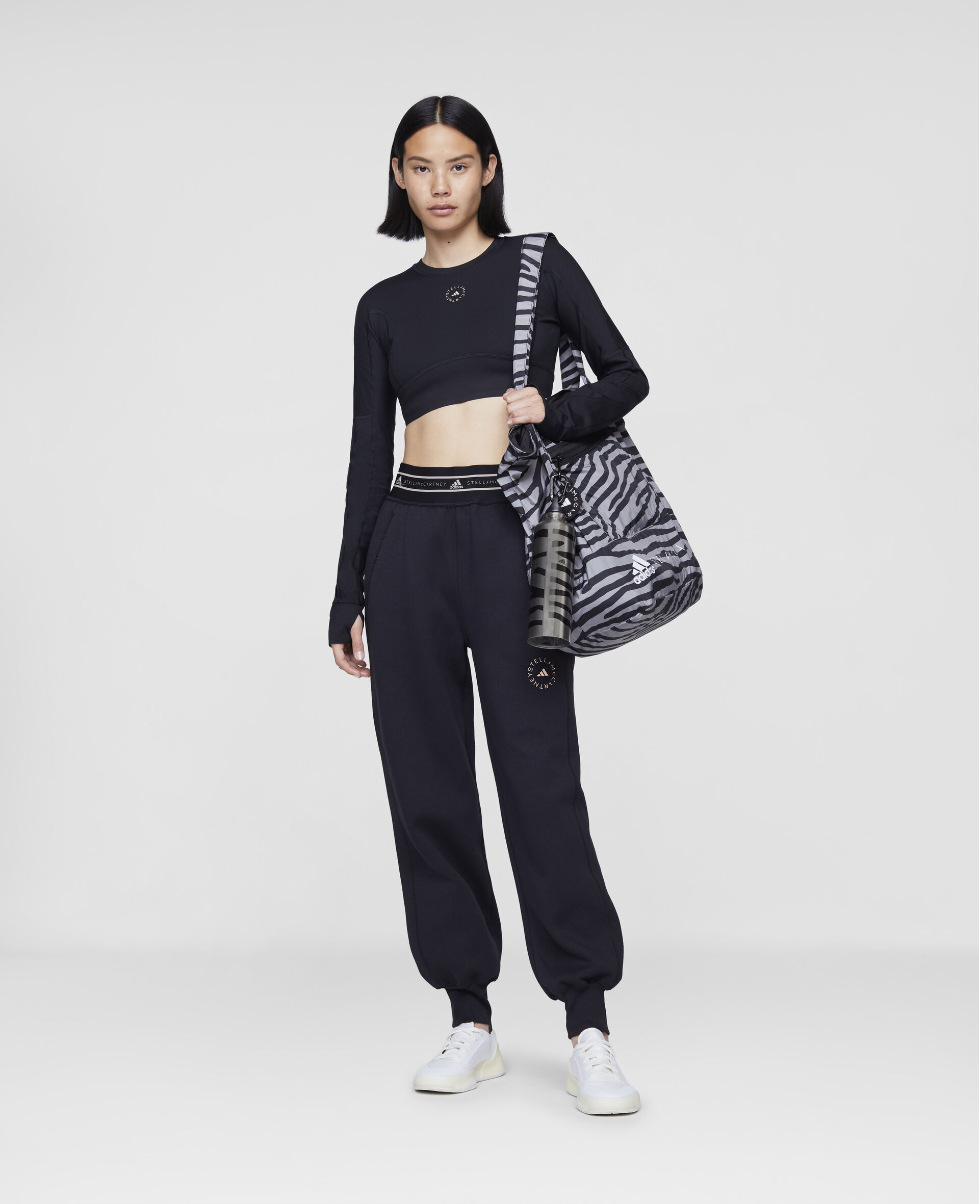Black Training Sweatpants-Black-large image number 1