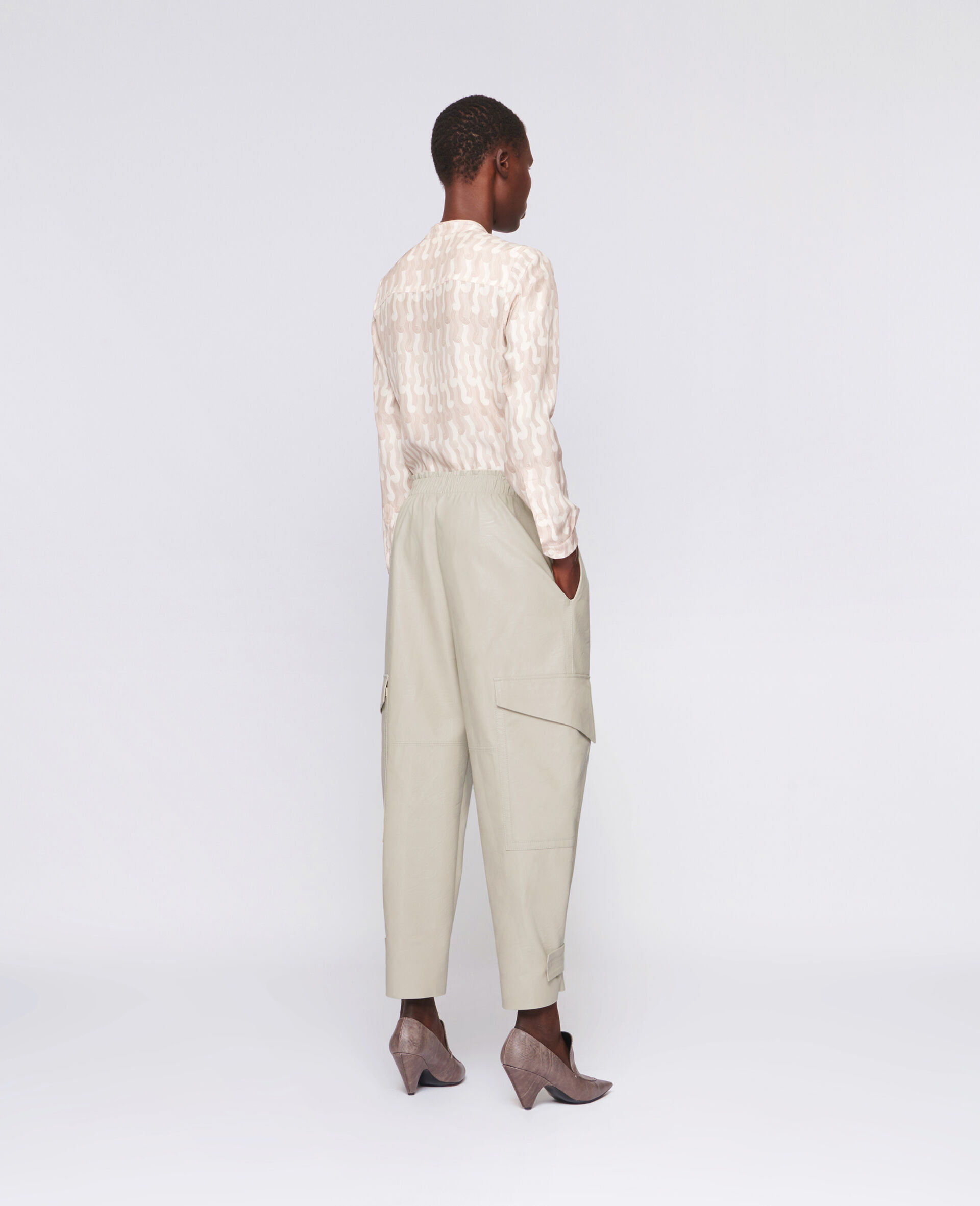 Sylvia Trousers-Beige-large image number 2