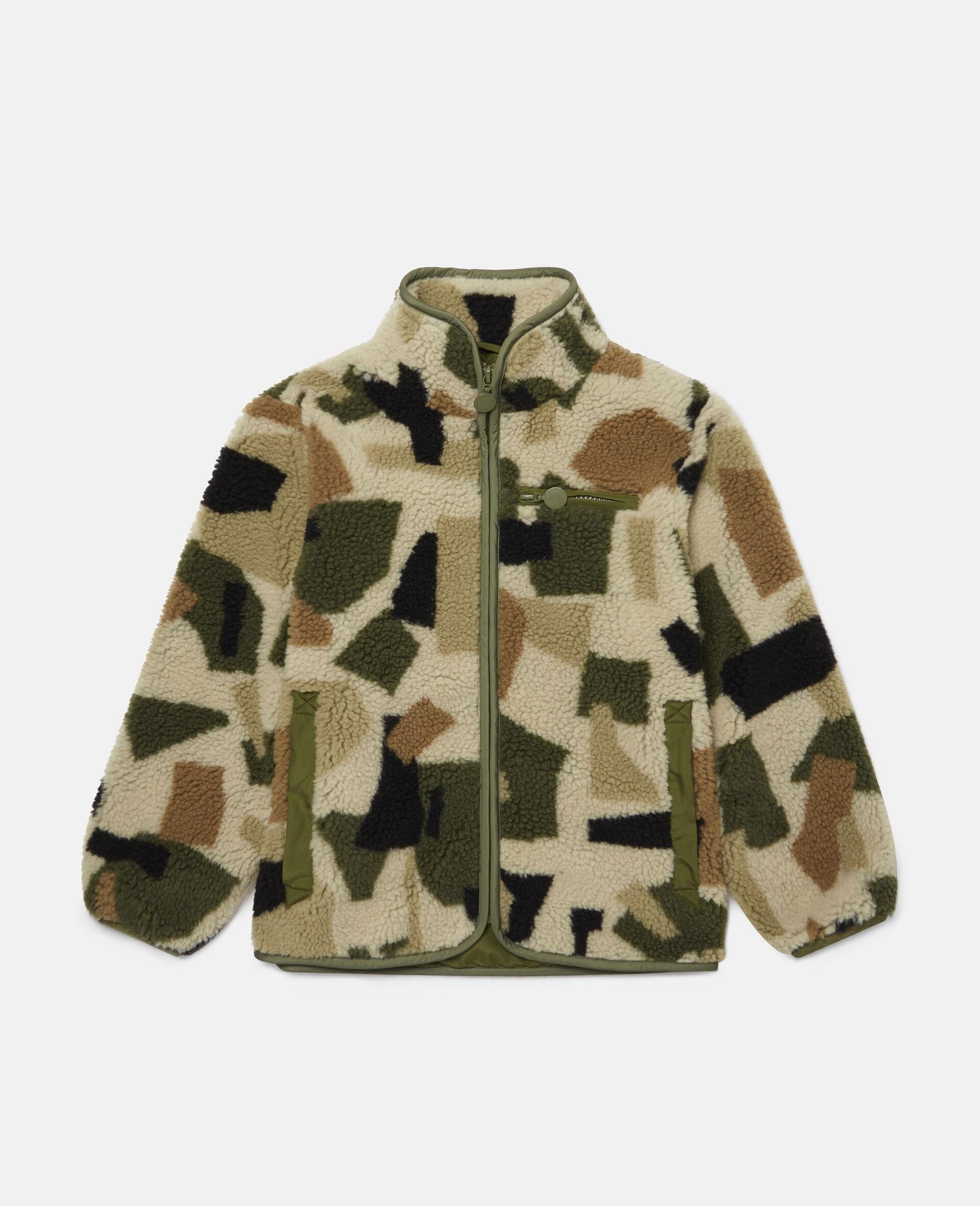 Military Camouflage Teddy Jacket-Multicolour-large image number 0