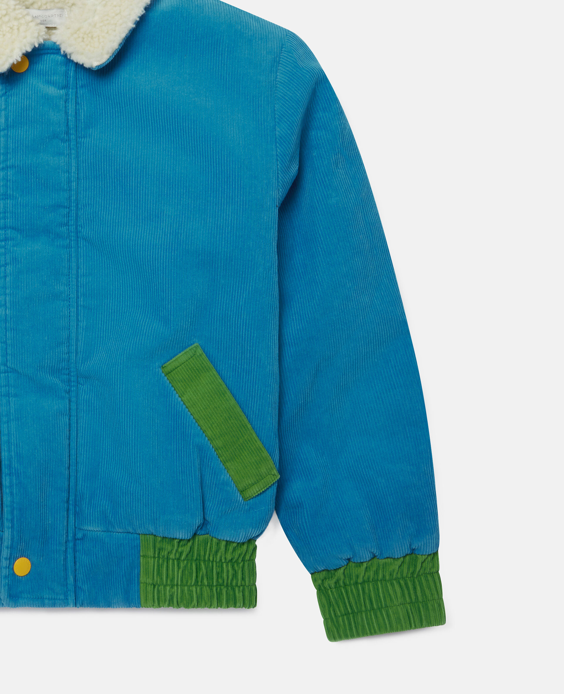 Corduroy Jacket-Blue-large image number 2
