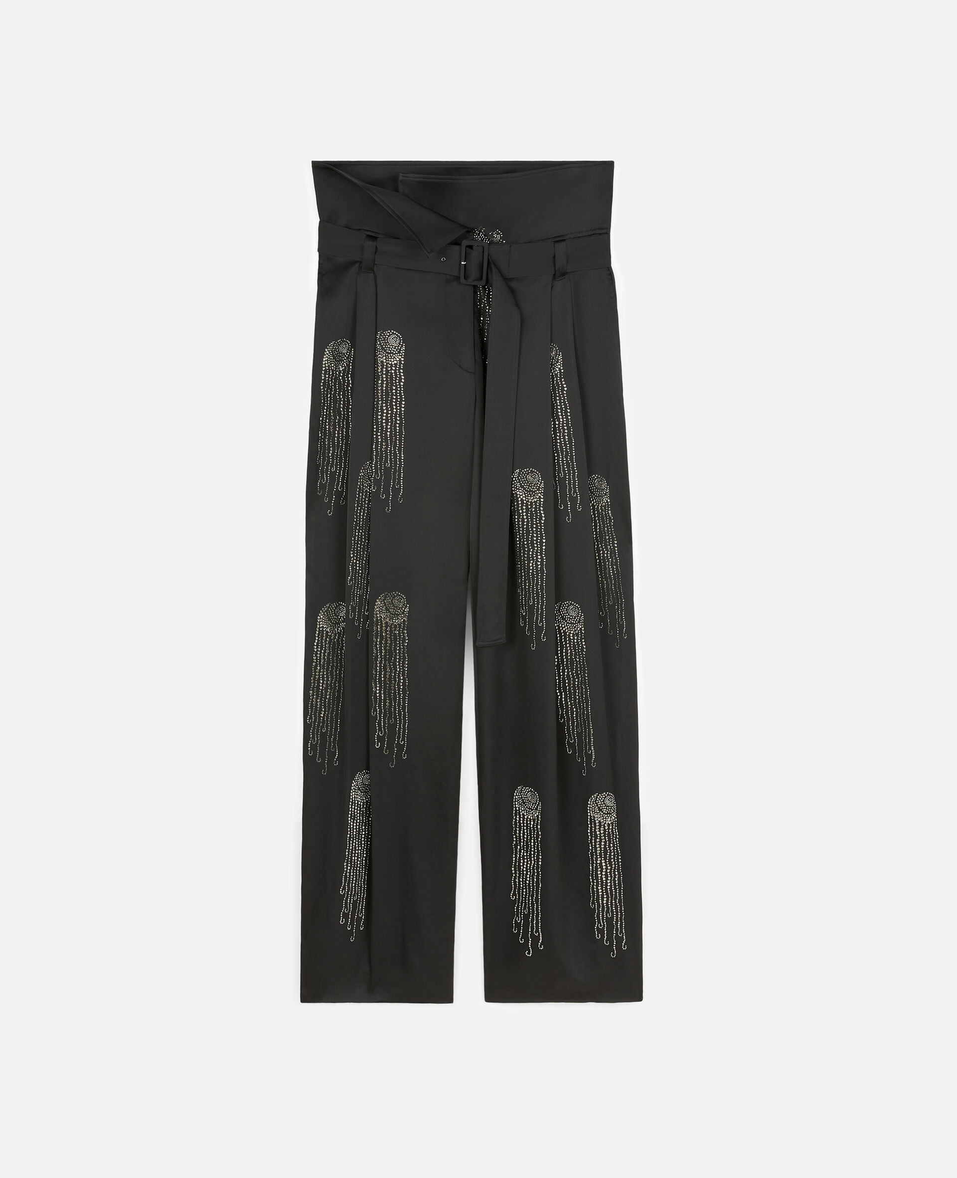 Londyn Hotfix Trousers-Black-large image number 0