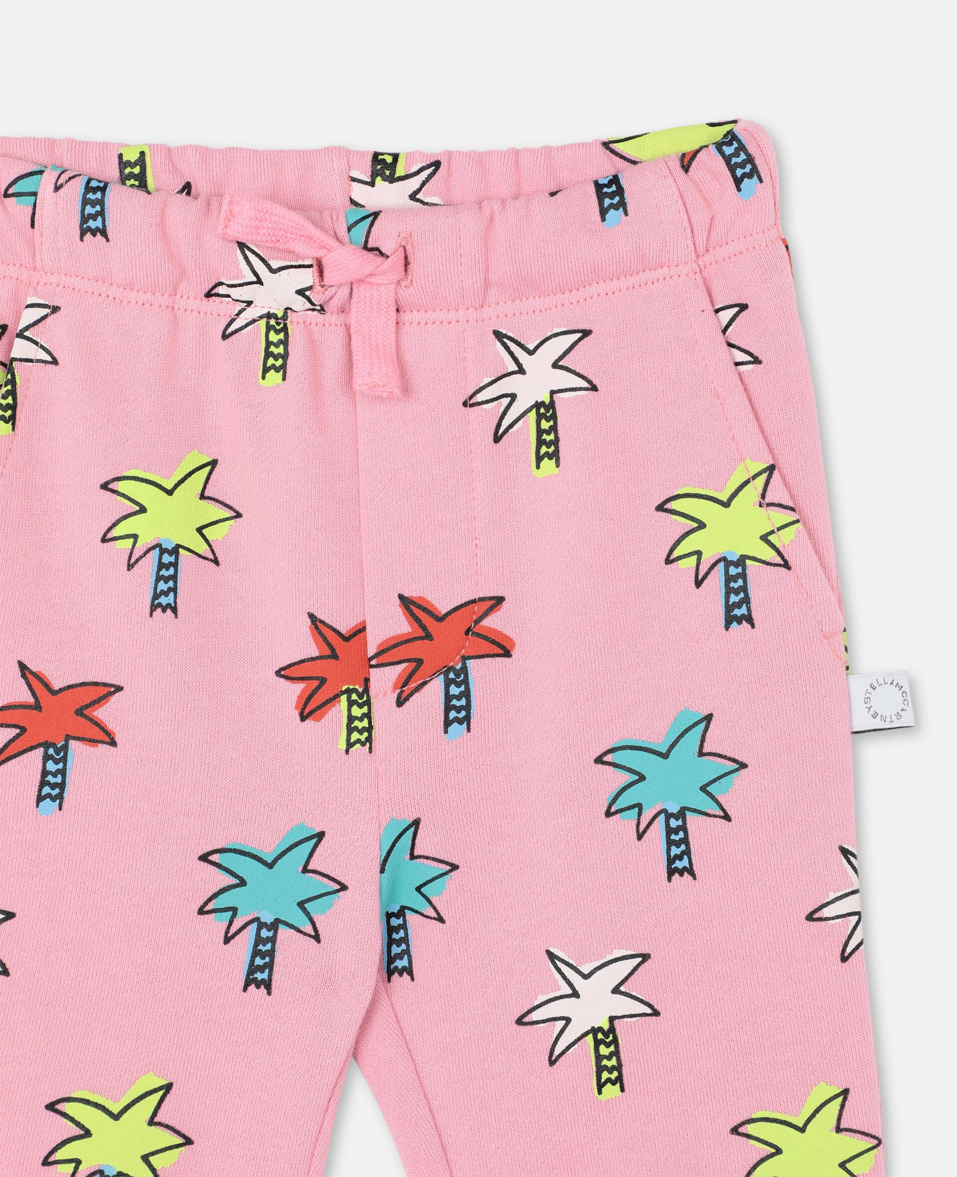 "Sweatpants aus Baumwolle mit ""Doodly Palms""-Print -Rose-large image number 1"