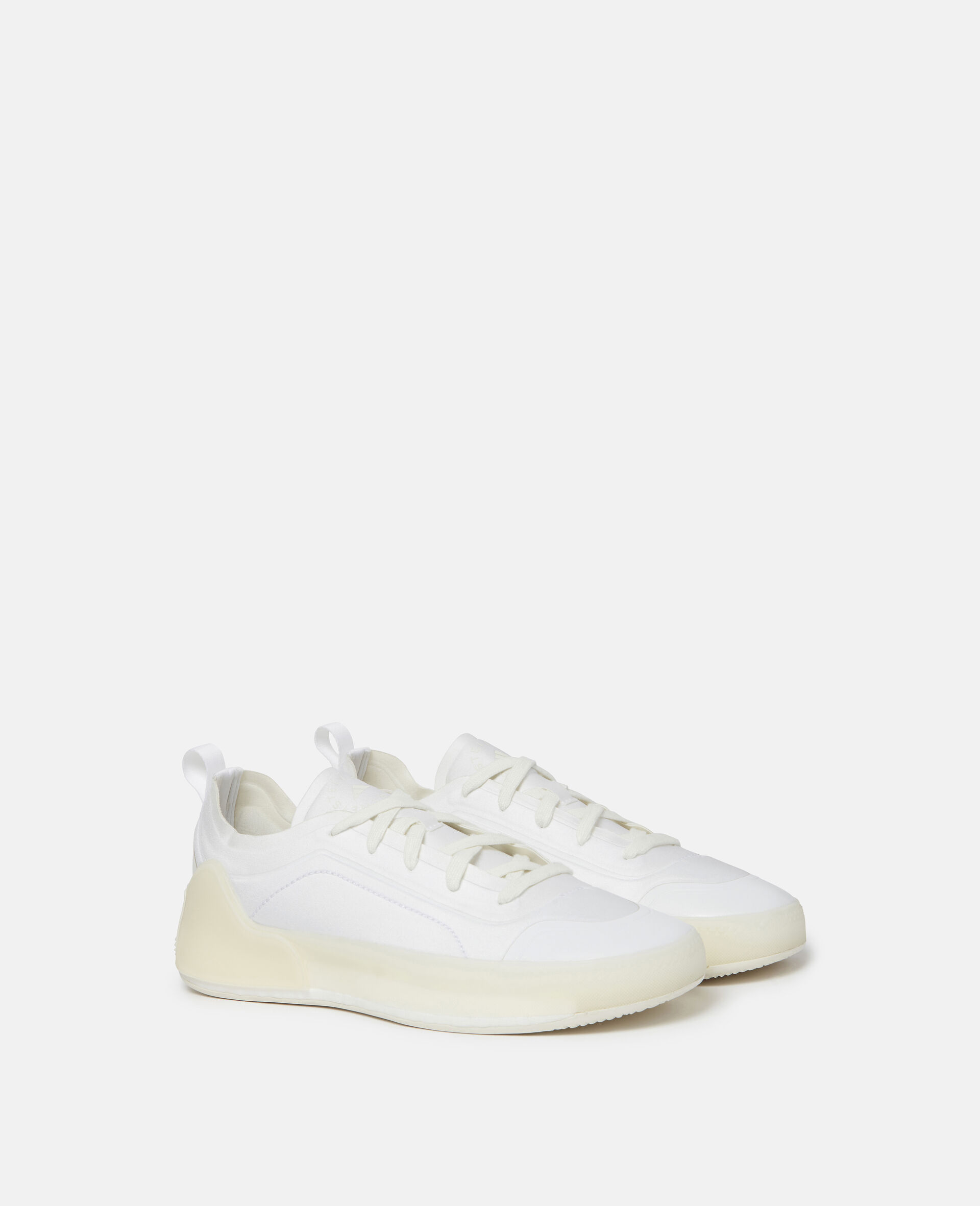 White Boost Treino Sneakers-White-large image number 1