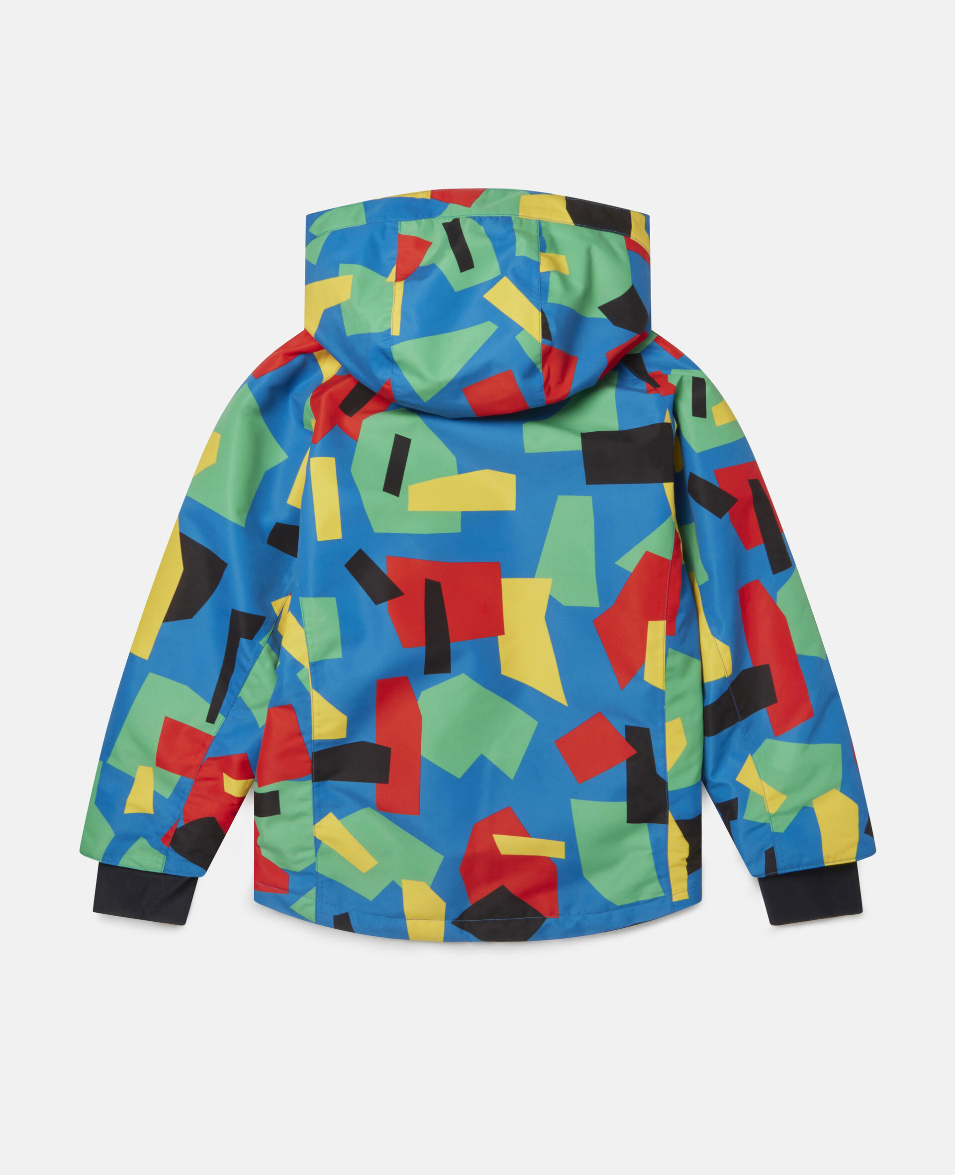 Colourblock Ski Jacket-Multicolour-large image number 3