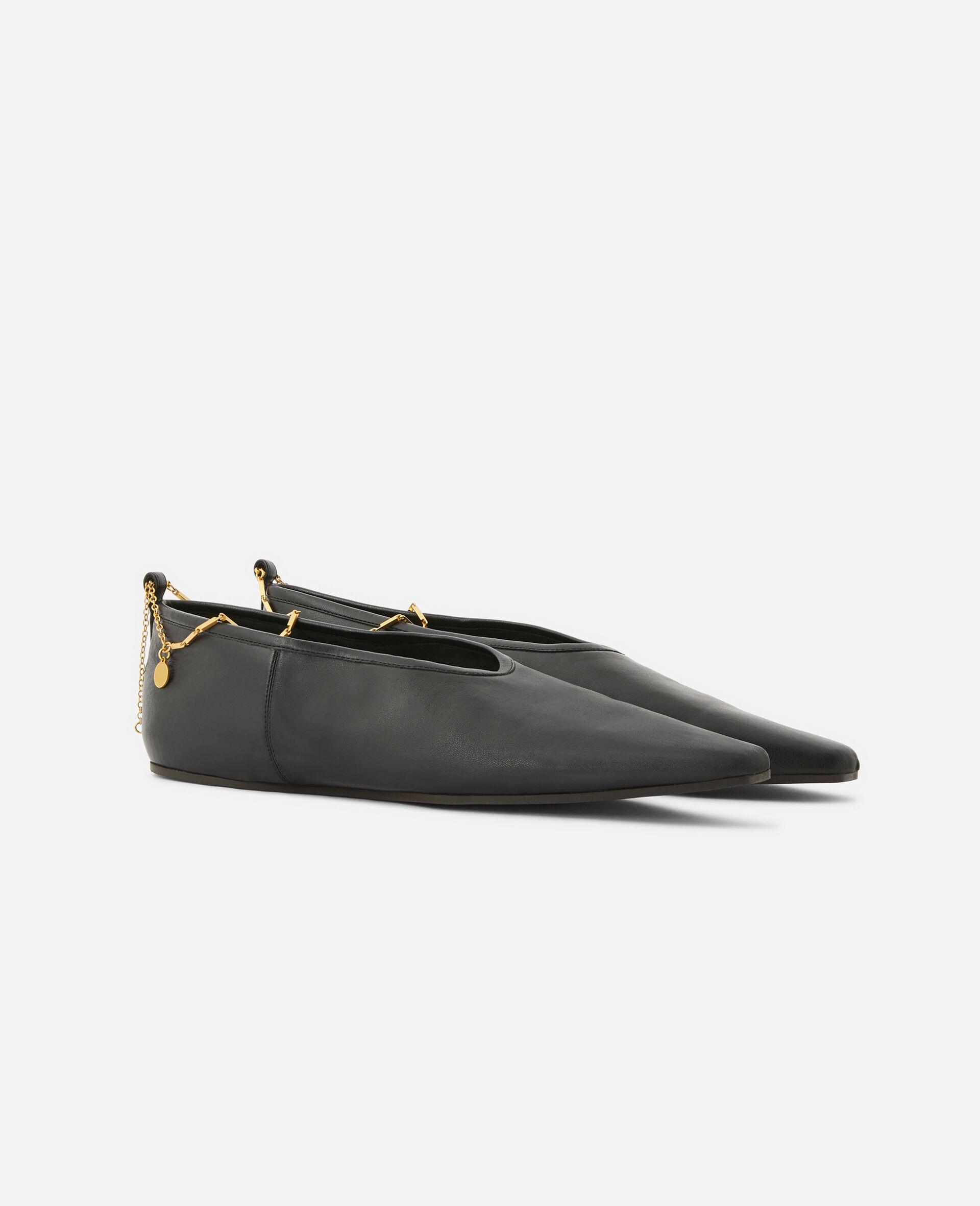 Ballet Flats-Black-large image number 1