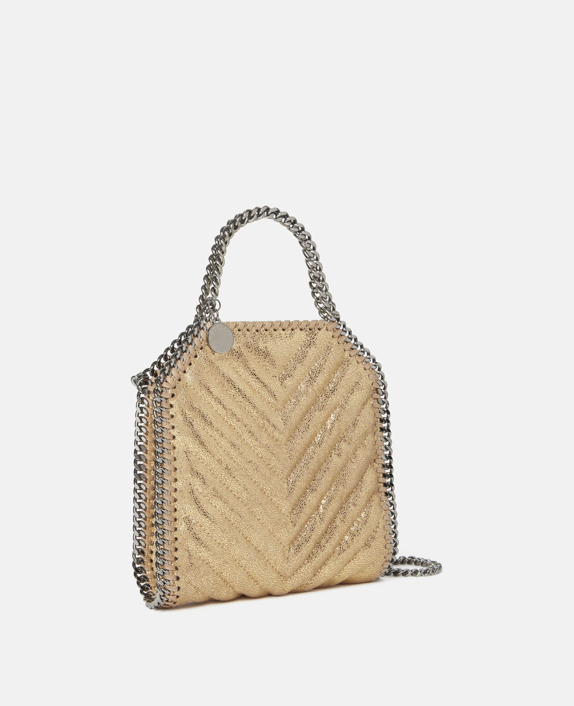 Falabella Tiny Tote-Yellow-large image number 1