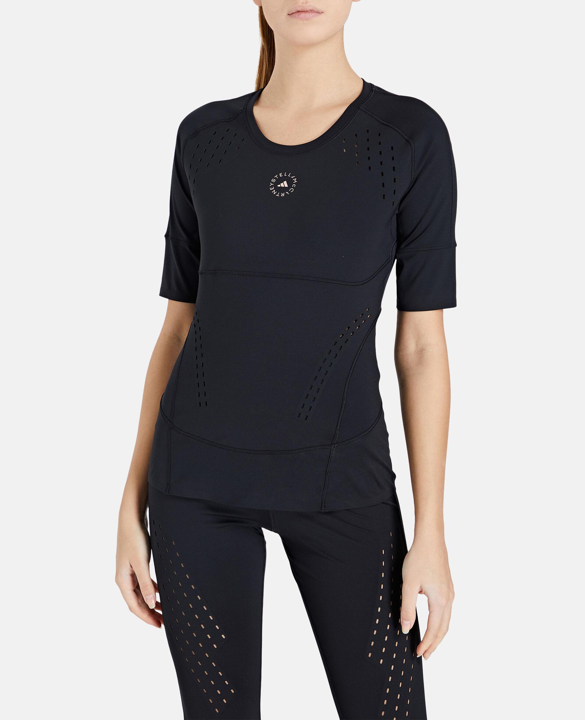 Black TruePurpose Training T-Shirt-Black-large image number 4